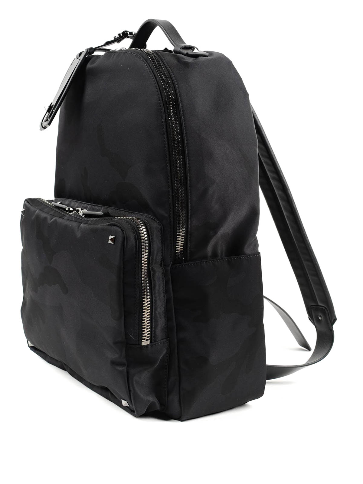648f658b25 VALENTINO GARAVANI: backpacks online - Jacquard Camouflage backpack
