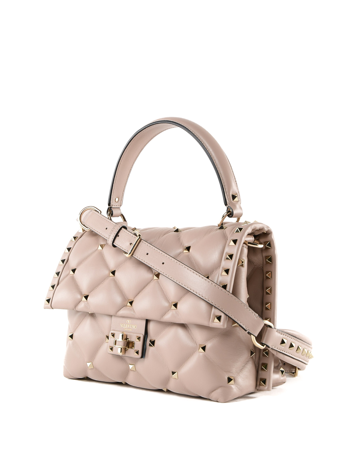 e96cdbe9186d VALENTINO GARAVANI  bowling bags online - Candystud quilted calfskin small  bag
