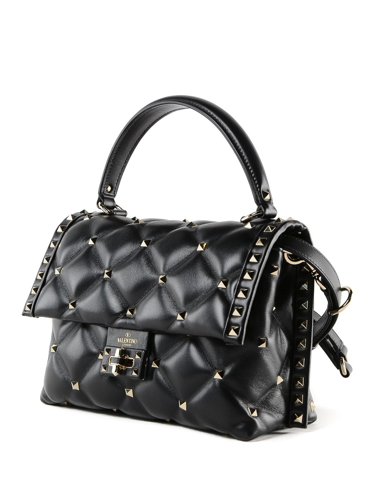 7d2953177b23 VALENTINO GARAVANI  bowling bags online - Candystud quilted calfskin small  handbag