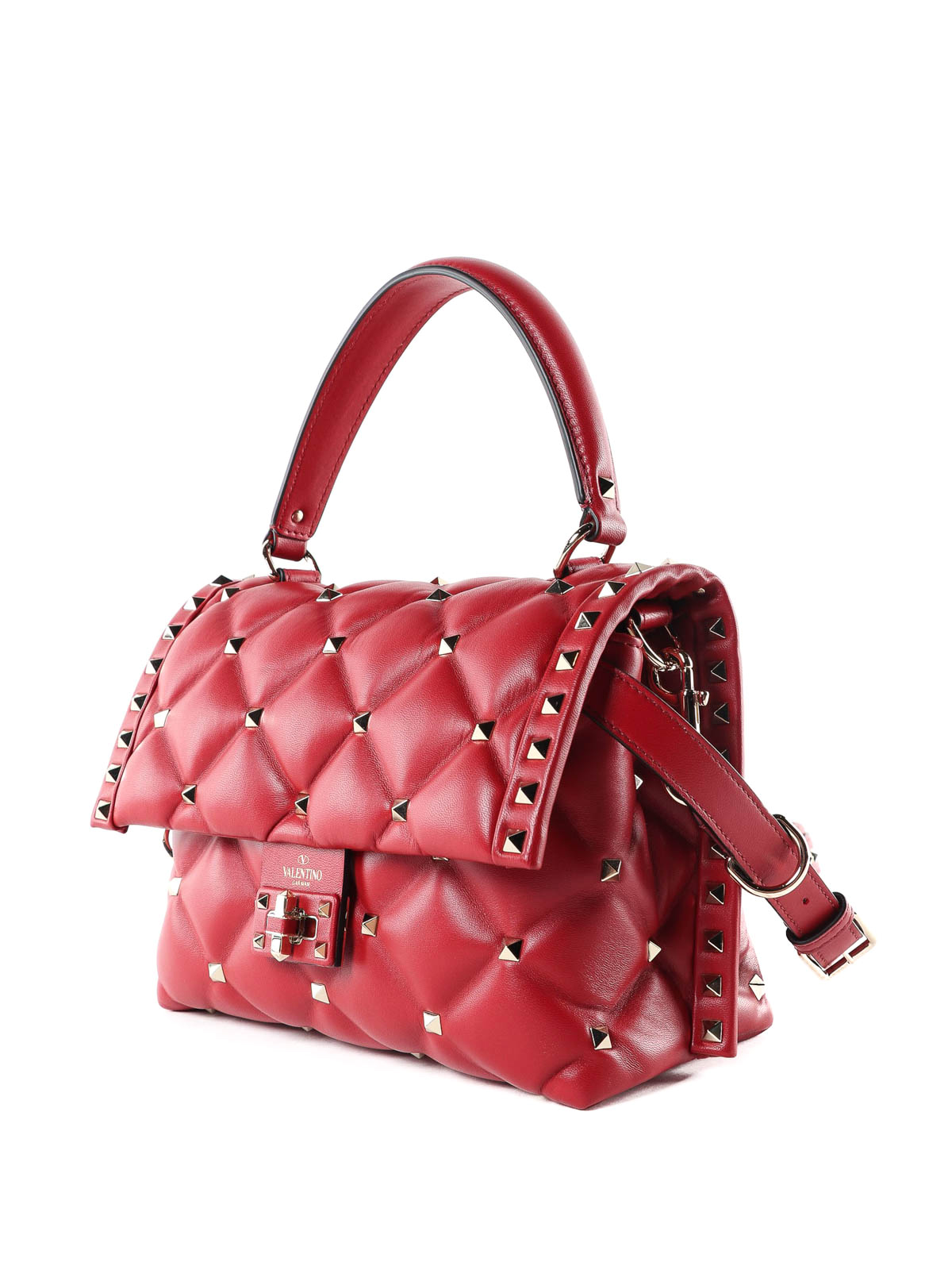 f7c70f951c00 VALENTINO GARAVANI  bowling bags online - Candystud quilted lambskin hand  bag