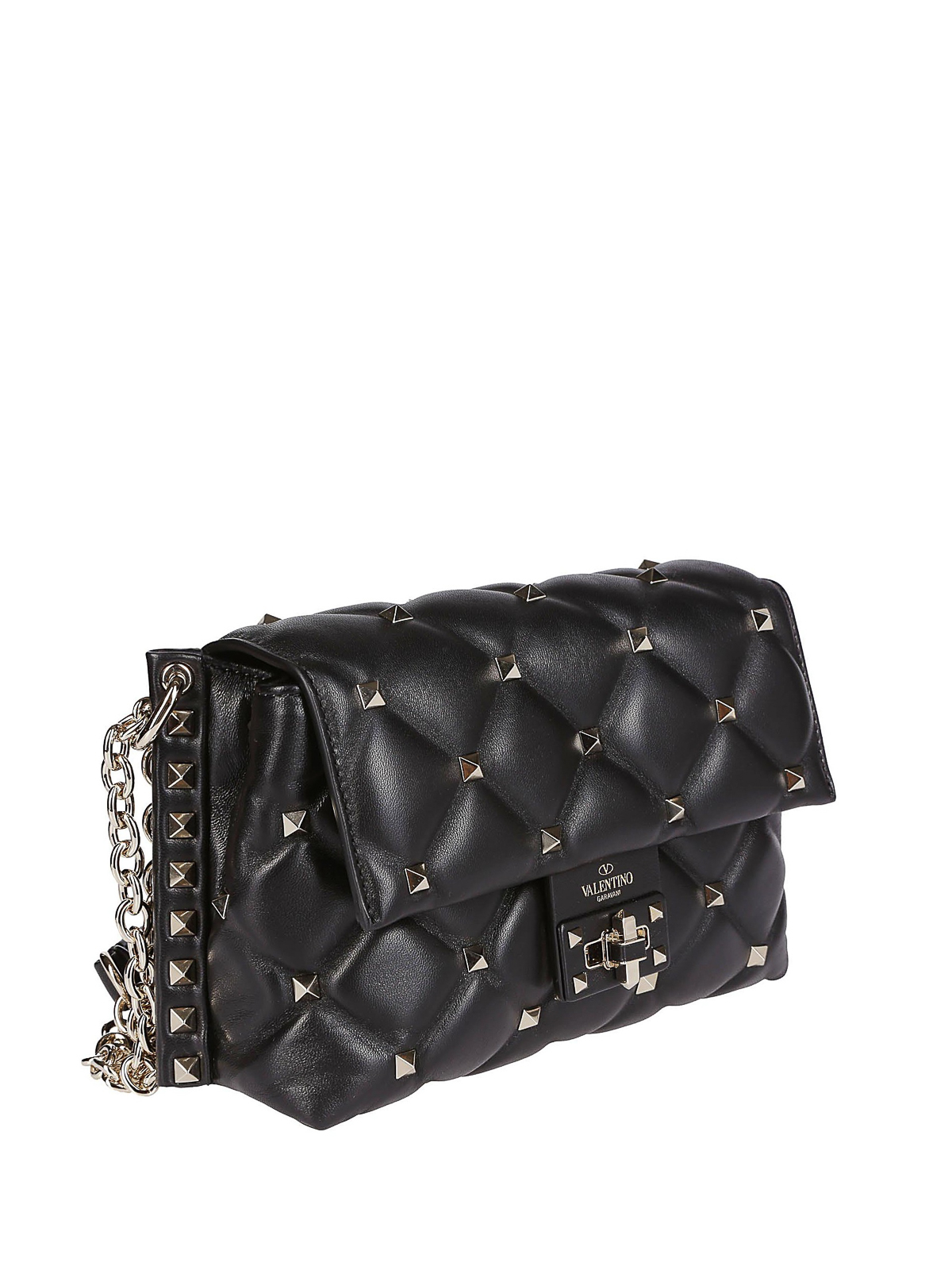 eddc738feb1 VALENTINO GARAVANI: cross body bags online - Candystud quilted leather  small bag
