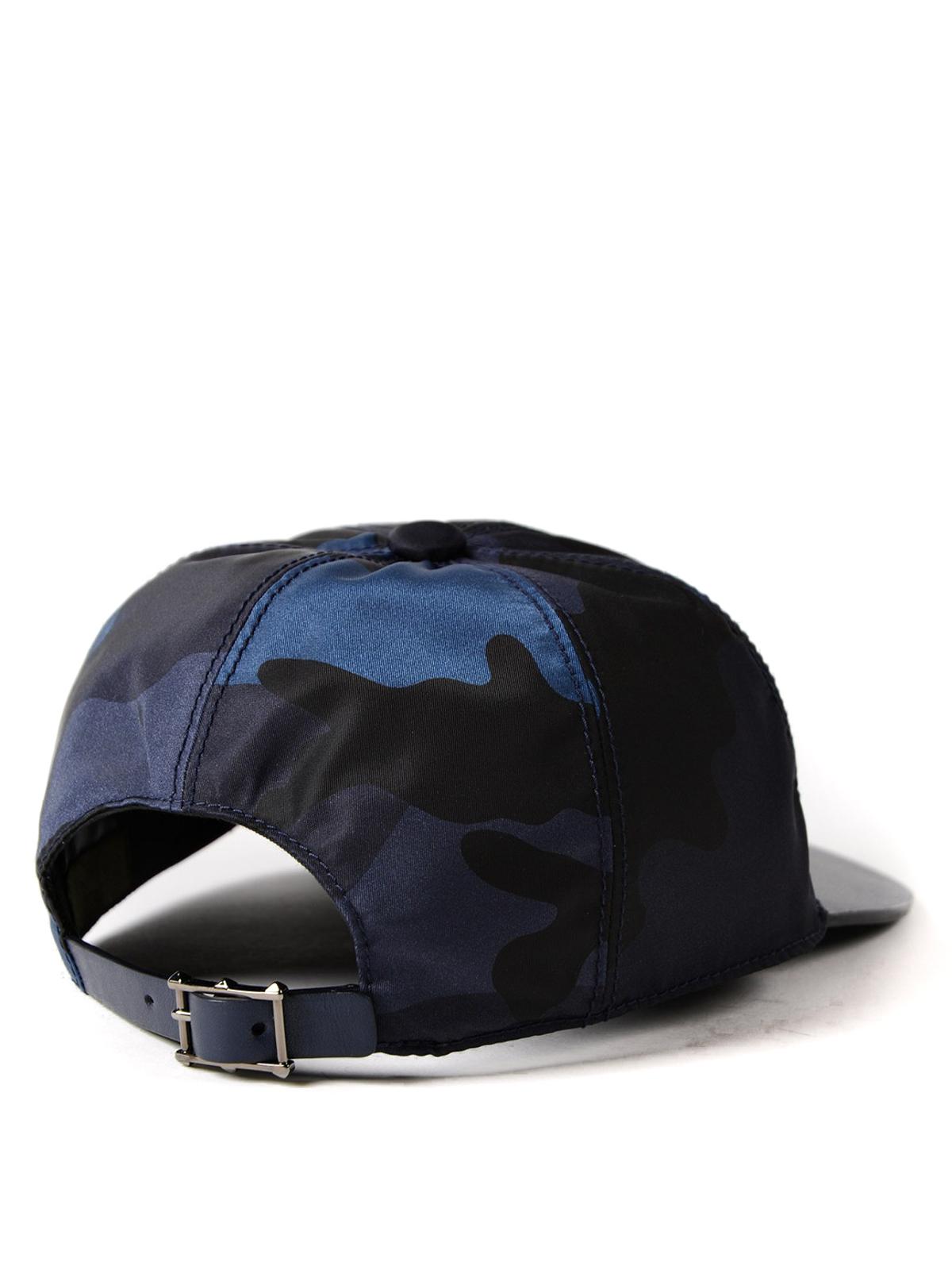 VALENTINO GARAVANI  hats   caps online - Camu canvas baseball cap 46883d07314