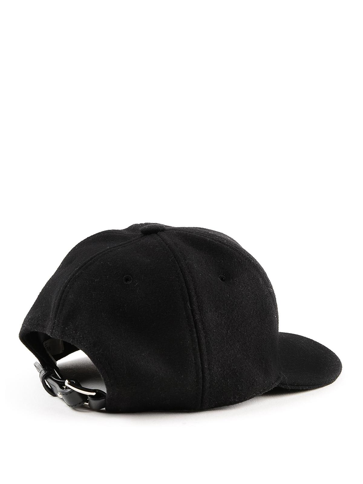 VALENTINO GARAVANI  hats   caps online - VLTN wool blend baseball cap f7d0051b44a0