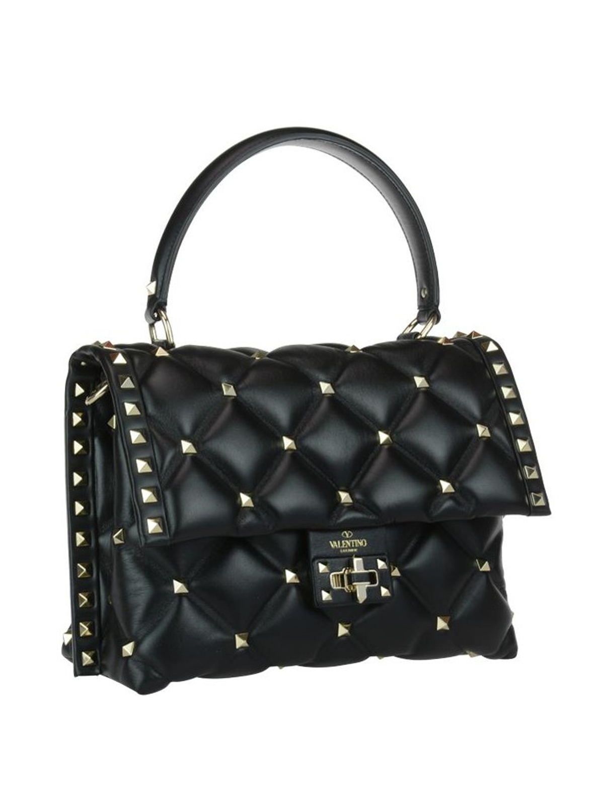 Valentino Garavani Candystud Black Nappa Bag Shoulder