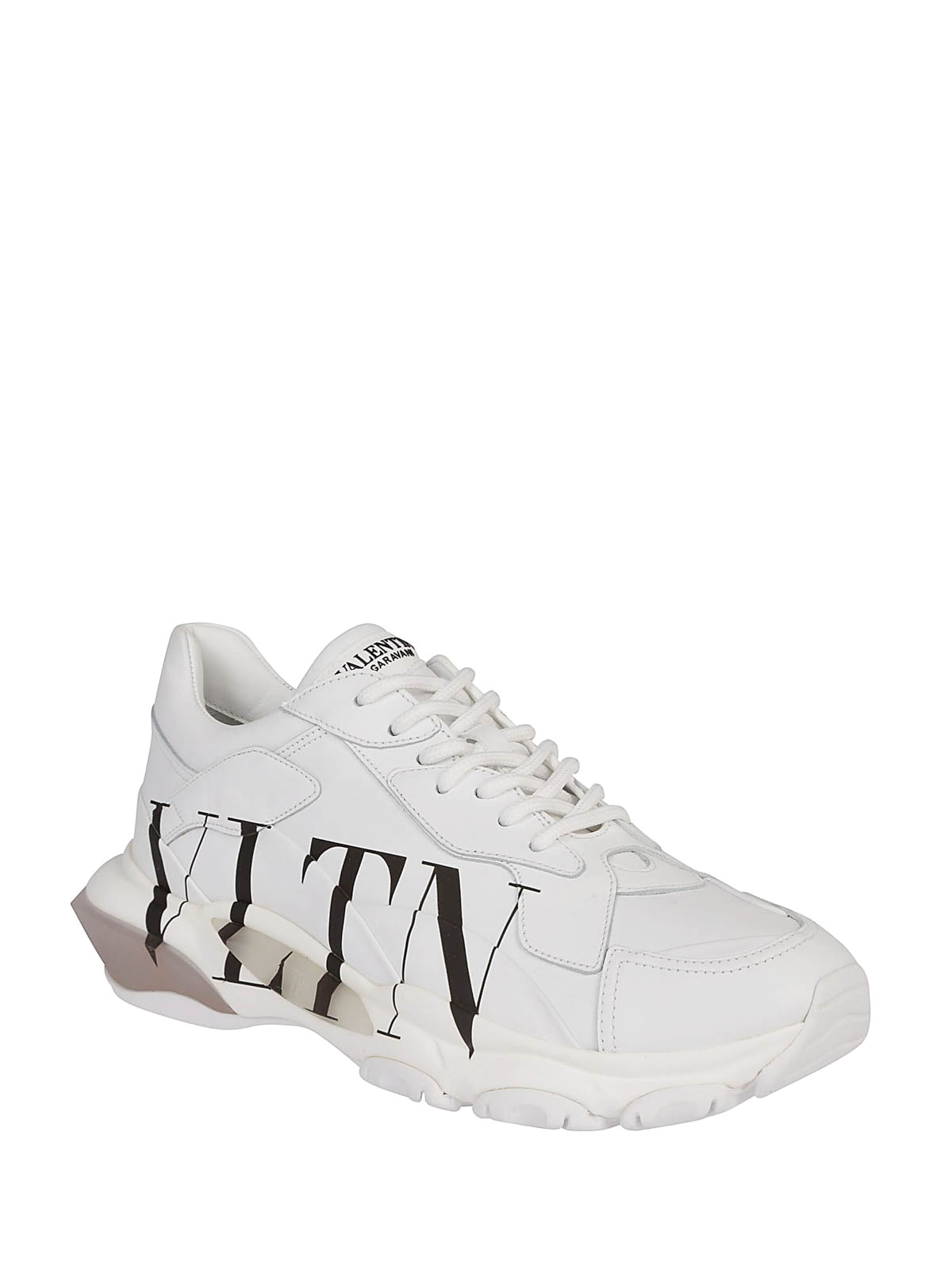 8f6a4350d VALENTINO GARAVANI  trainers online - Bounce low top leather sneakers