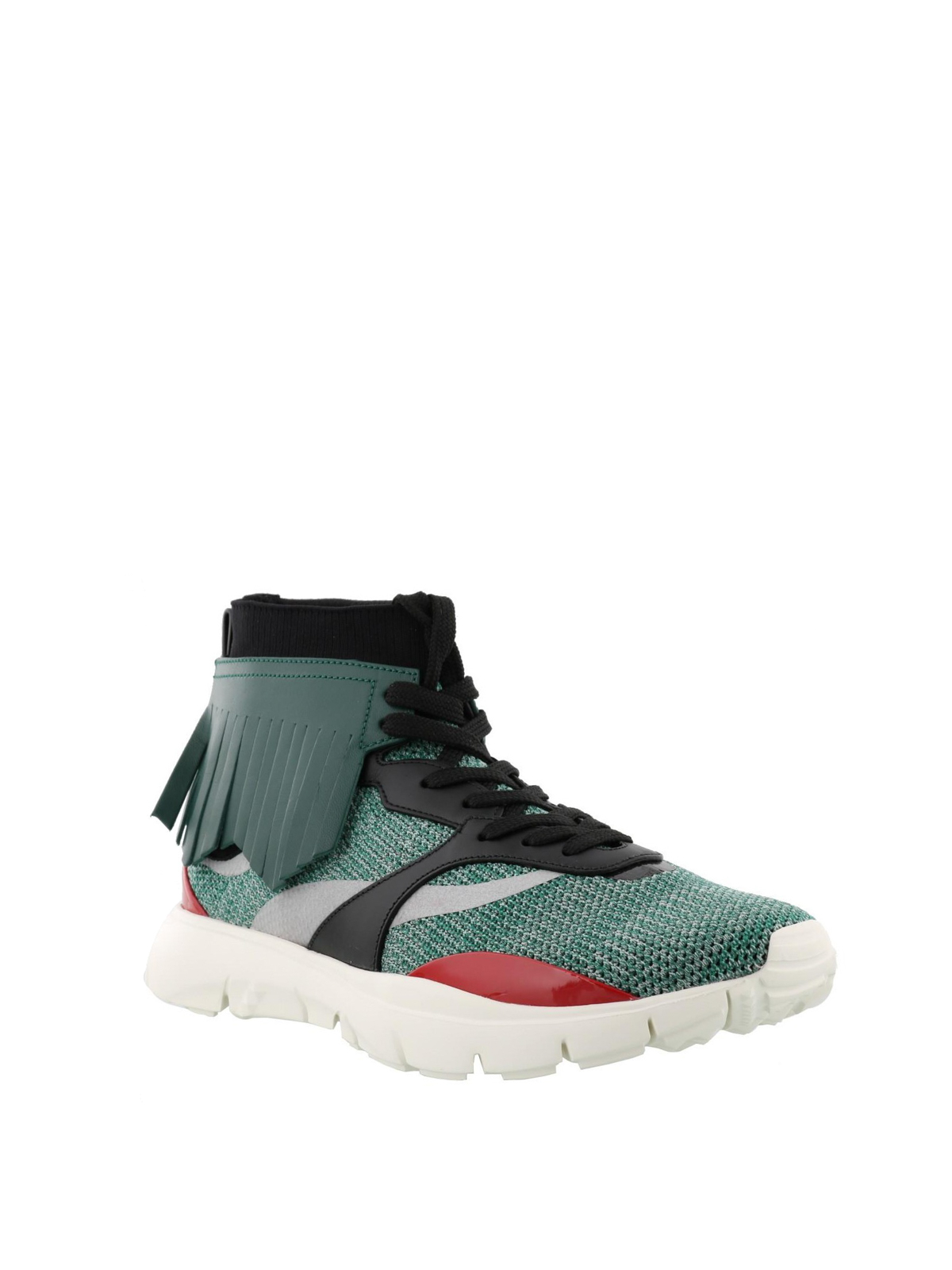 Heroes Tribe knit fabric sneakers