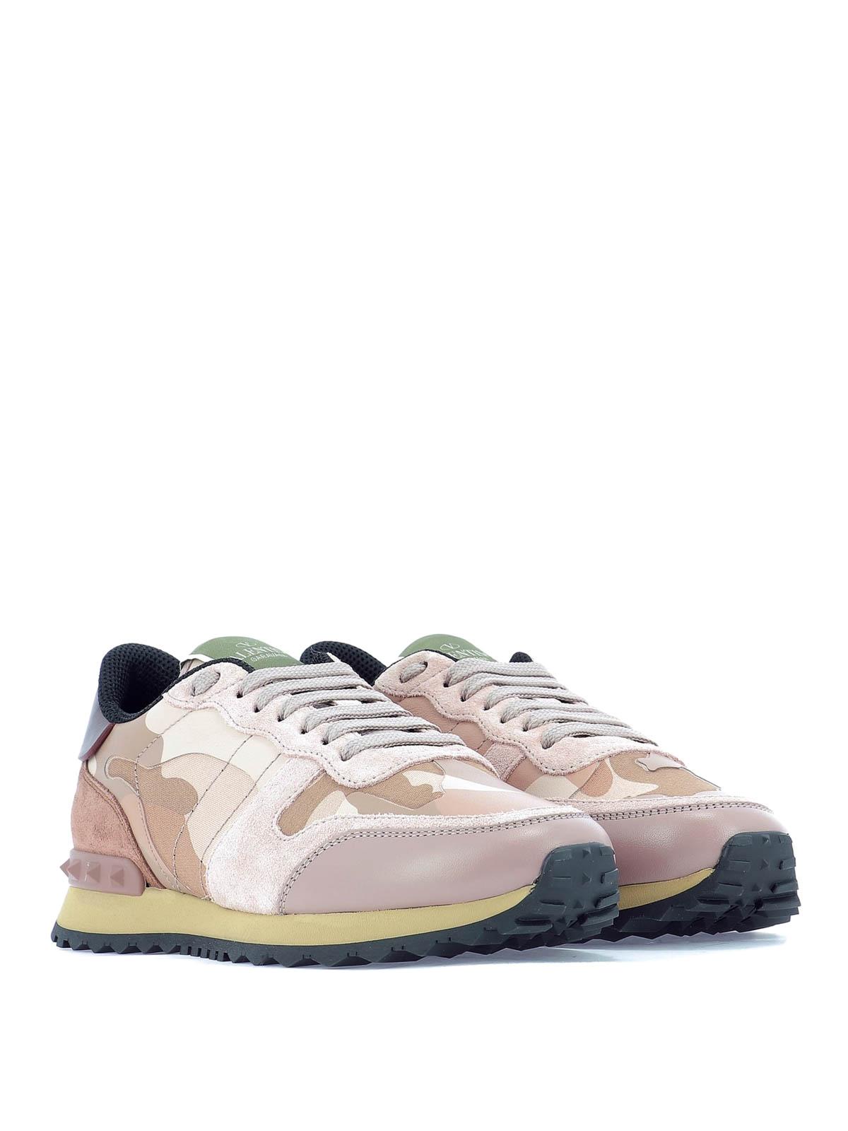 fbd51190f3749 VALENTINO GARAVANI: trainers online - Rockrunner Camouflage low top sneakers