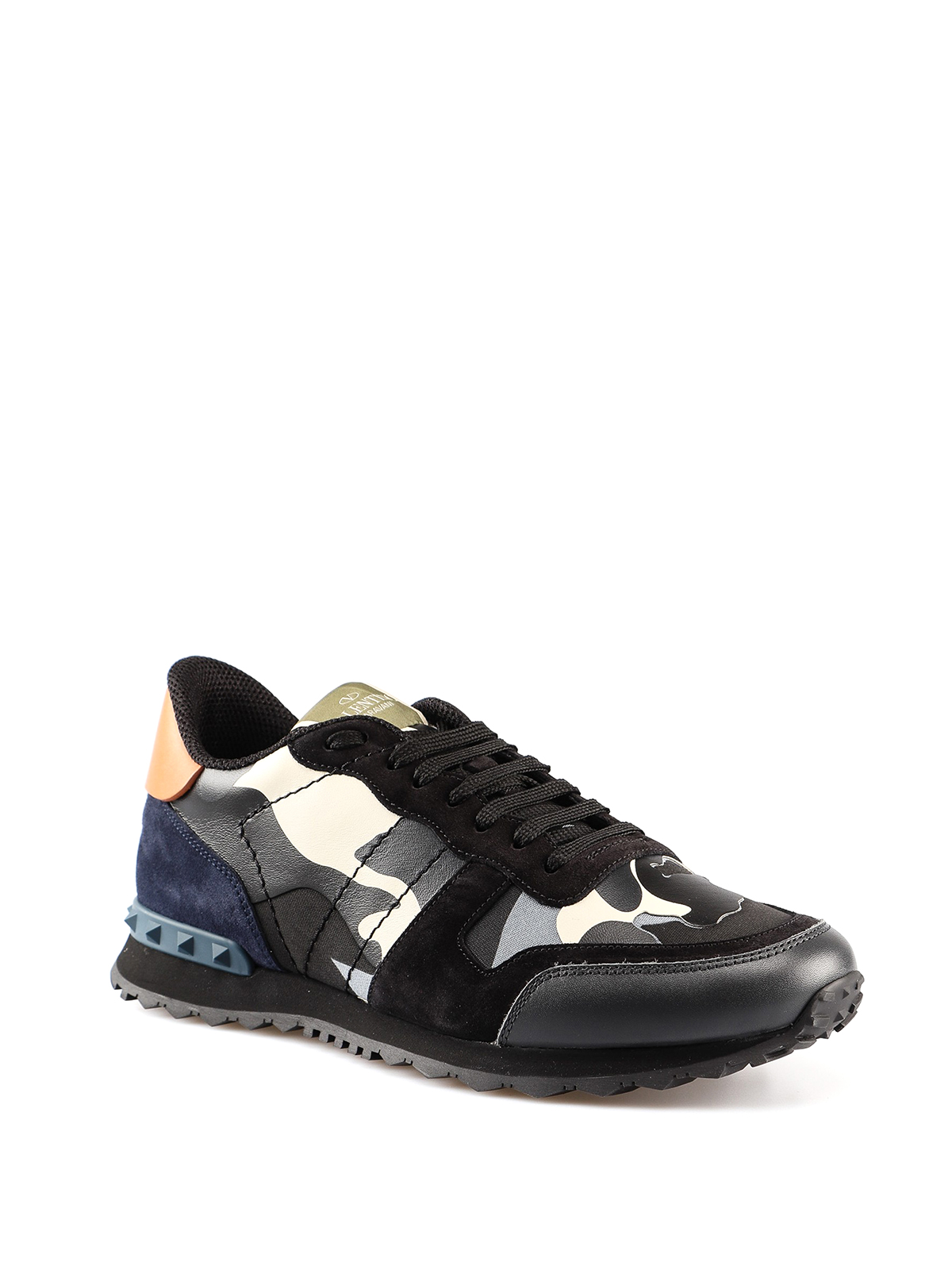 07980657bfd6b VALENTINO GARAVANI: trainers online - Rockrunner Camouflage multicolour  sneakers