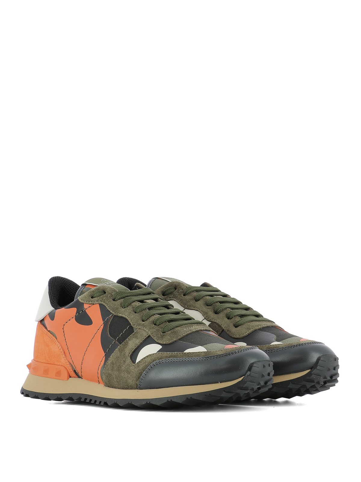 81e51f8f0f3b3 VALENTINO GARAVANI: trainers online - Rockrunner Camouflage sneakers