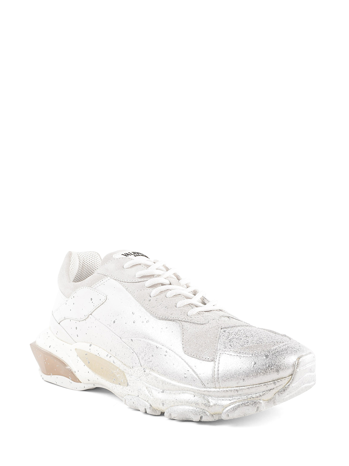 ab5dda7354bc3 VALENTINO GARAVANI  trainers online - Spray painted Bounce sneakers