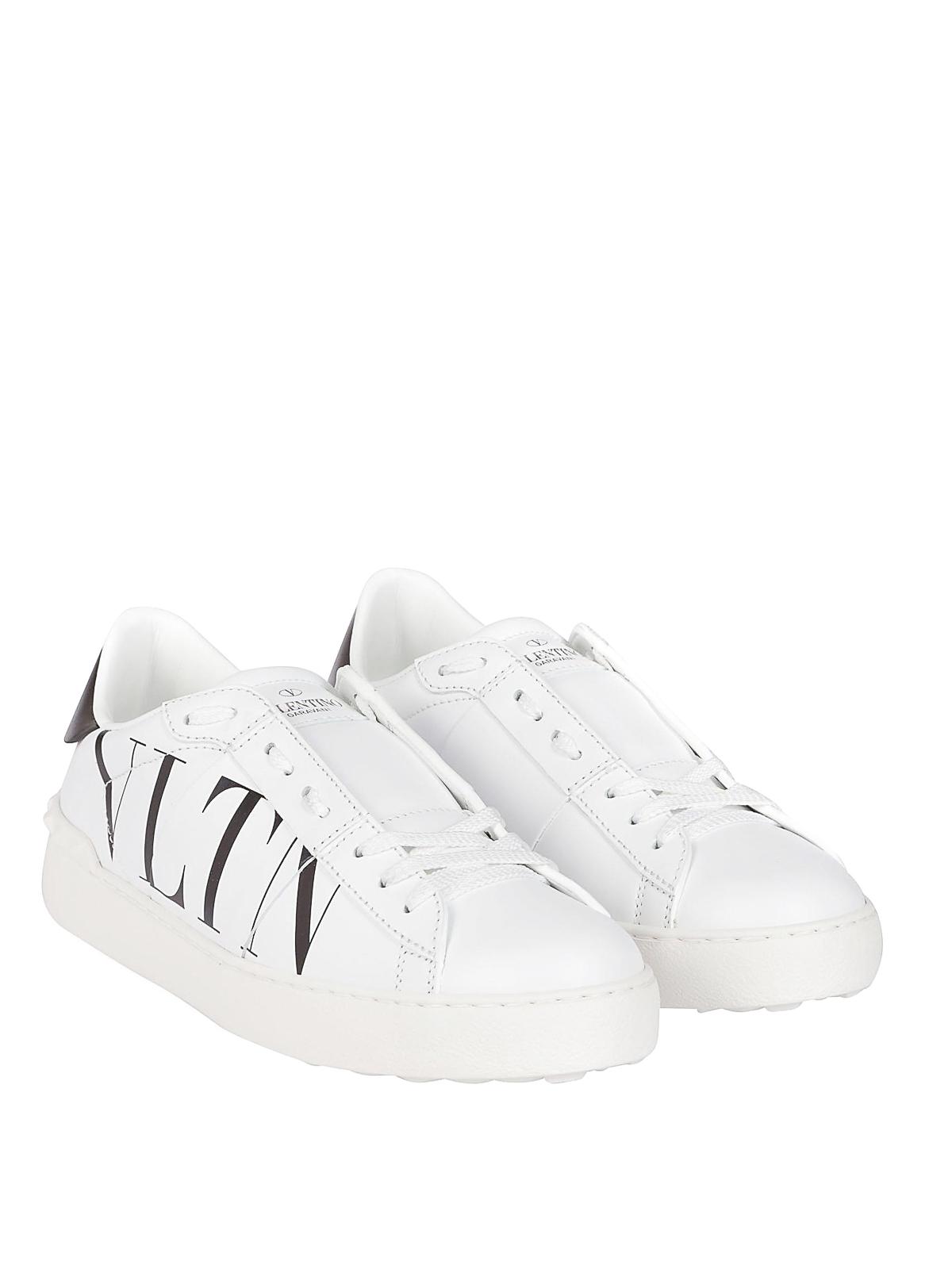 VALENTINO GARAVANI  trainers online - VLTN white leather low top sneakers c474b017da2