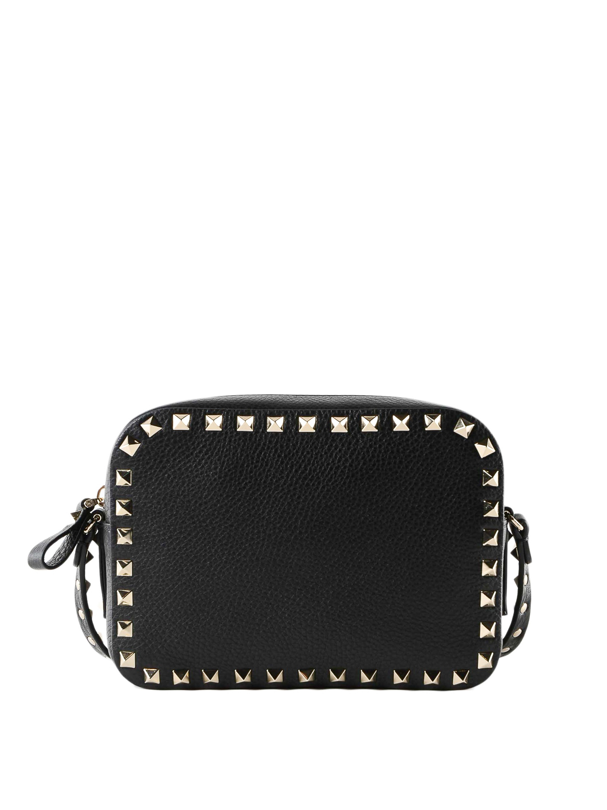 ca0f0961a0 Valentino Garavani Rockstud Black Leather Era Bag Shoulder