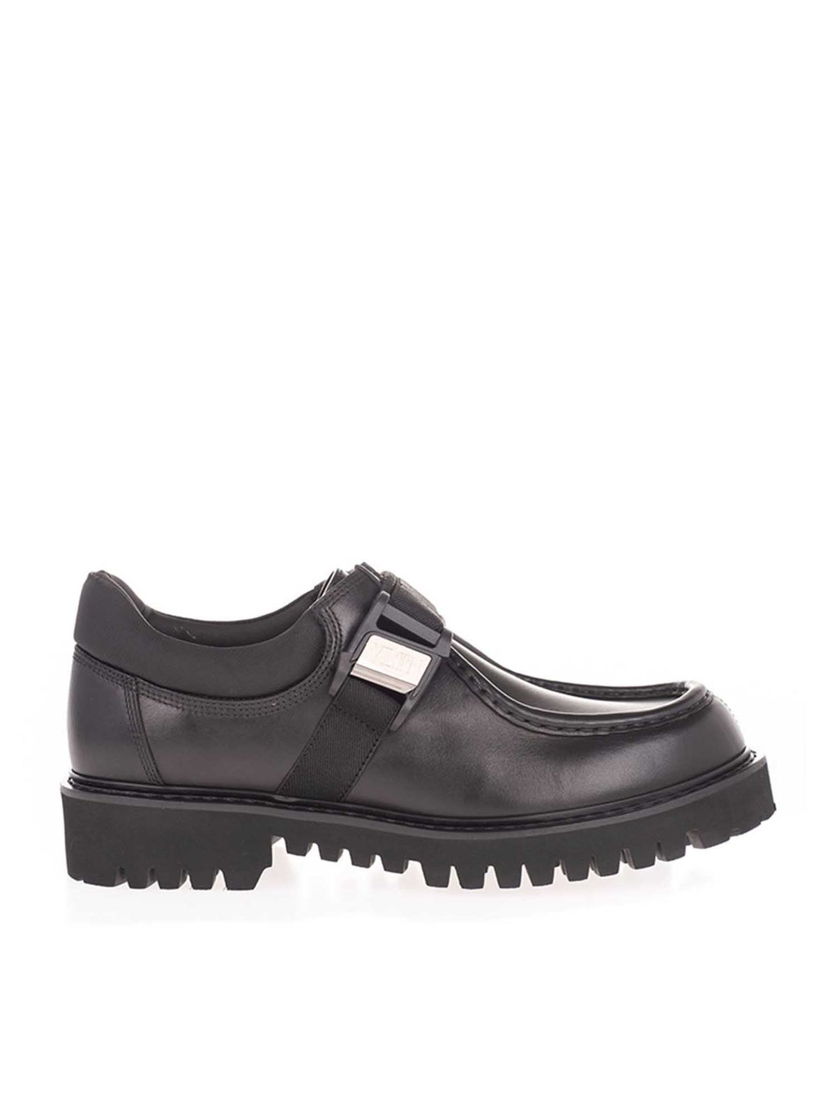 VALENTINO LOAFERS BUCKLE IN BLACK