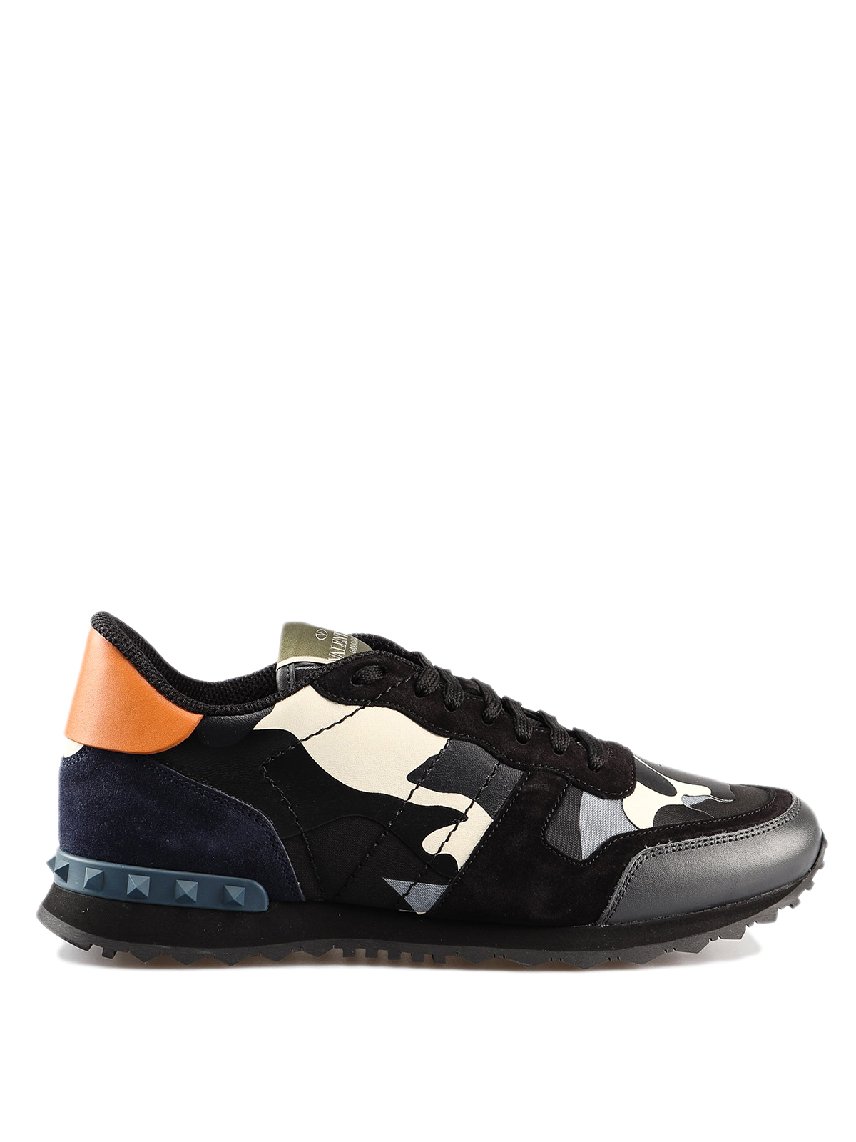 8f4123fd3b8b5 VALENTINO GARAVANI: trainers - Rockrunner Camouflage multicolour sneakers