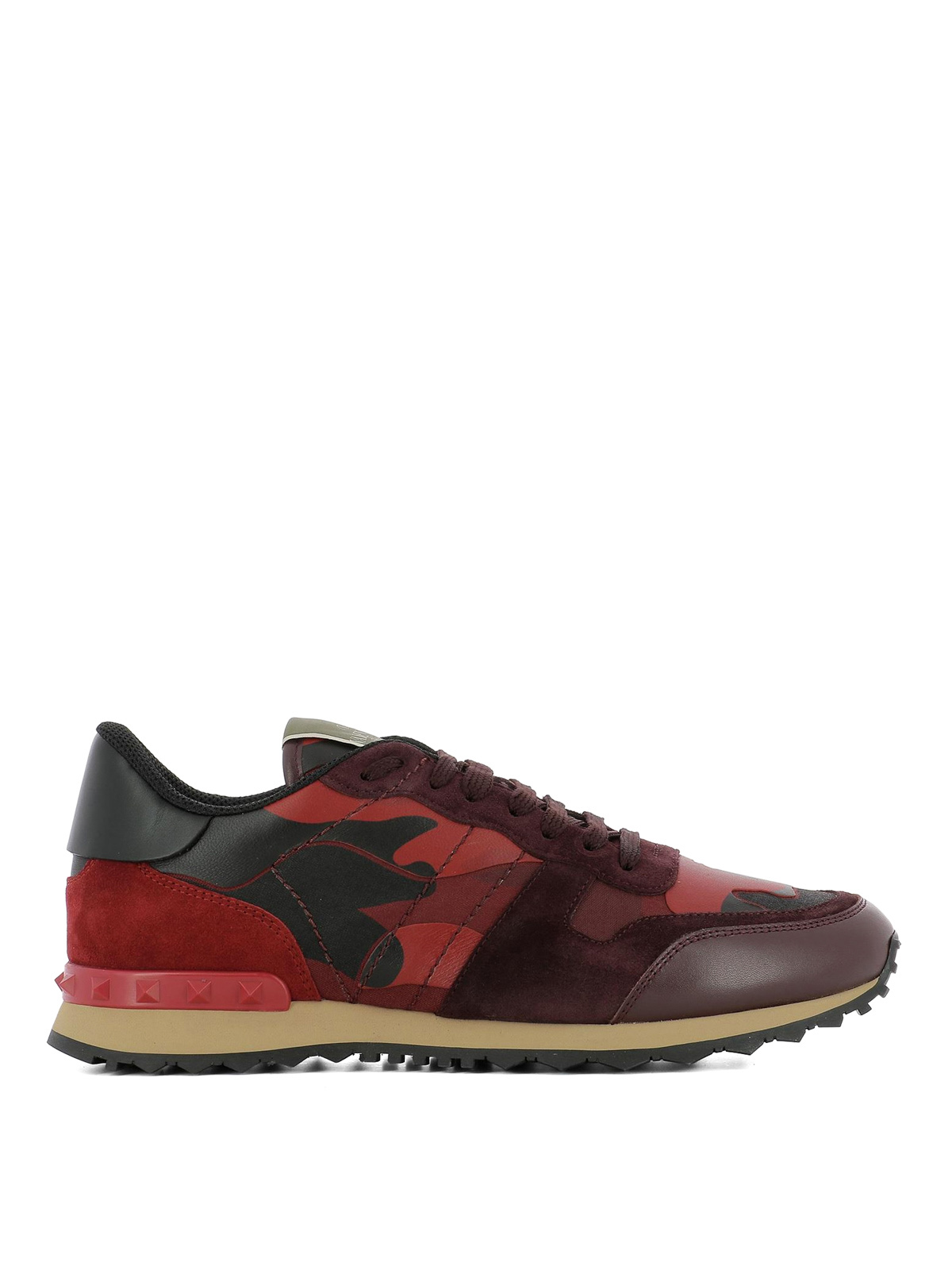dark red trainers
