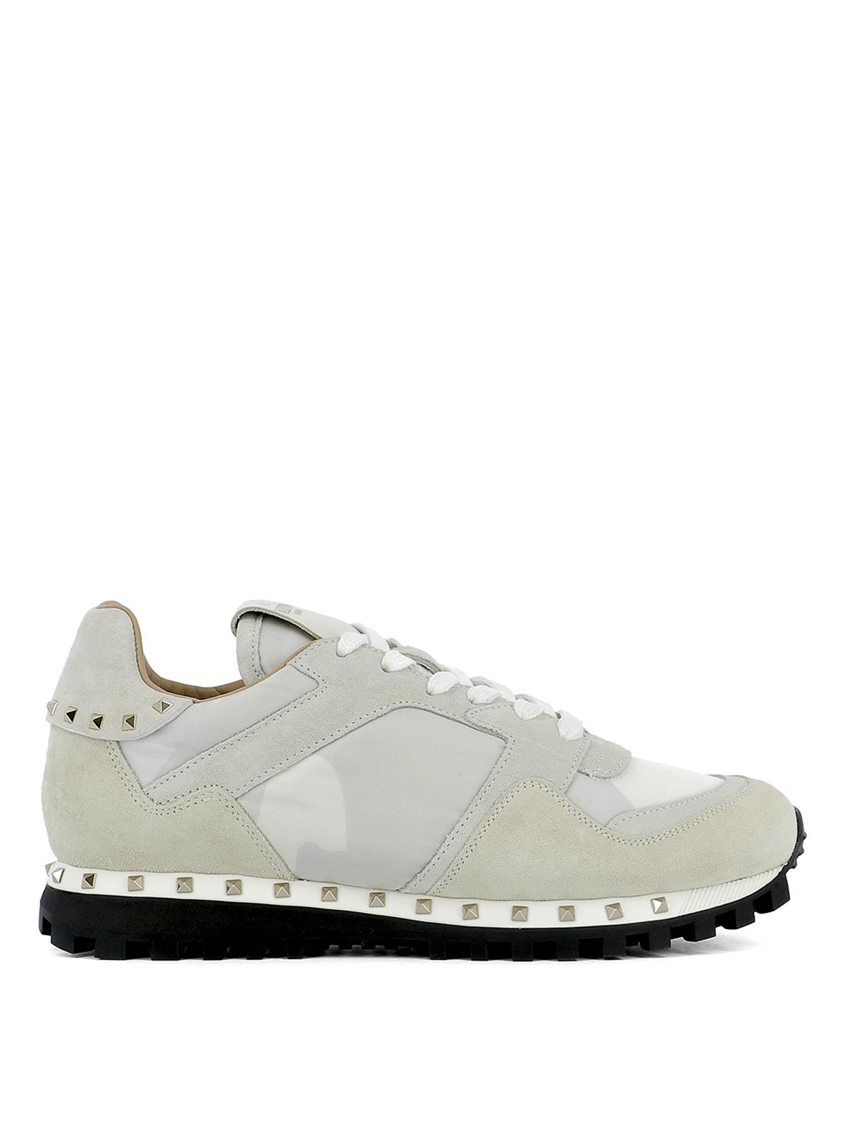 valentino garavani rockstud sneakers trainers mw2s0b51nyma00. Black Bedroom Furniture Sets. Home Design Ideas