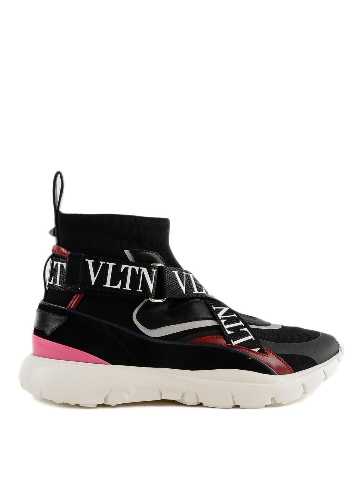 Valentino Garavani - VLTN straps high