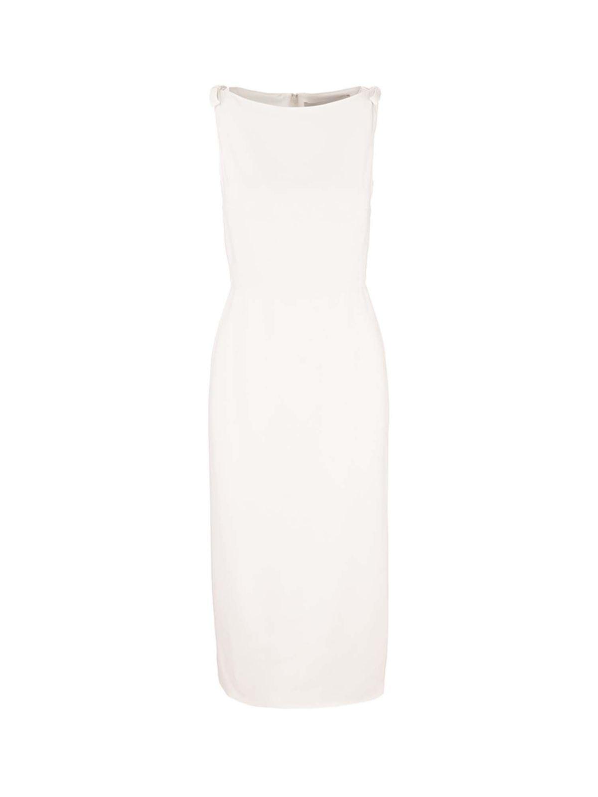 Valentino SHEATH DRESS IN WHITE