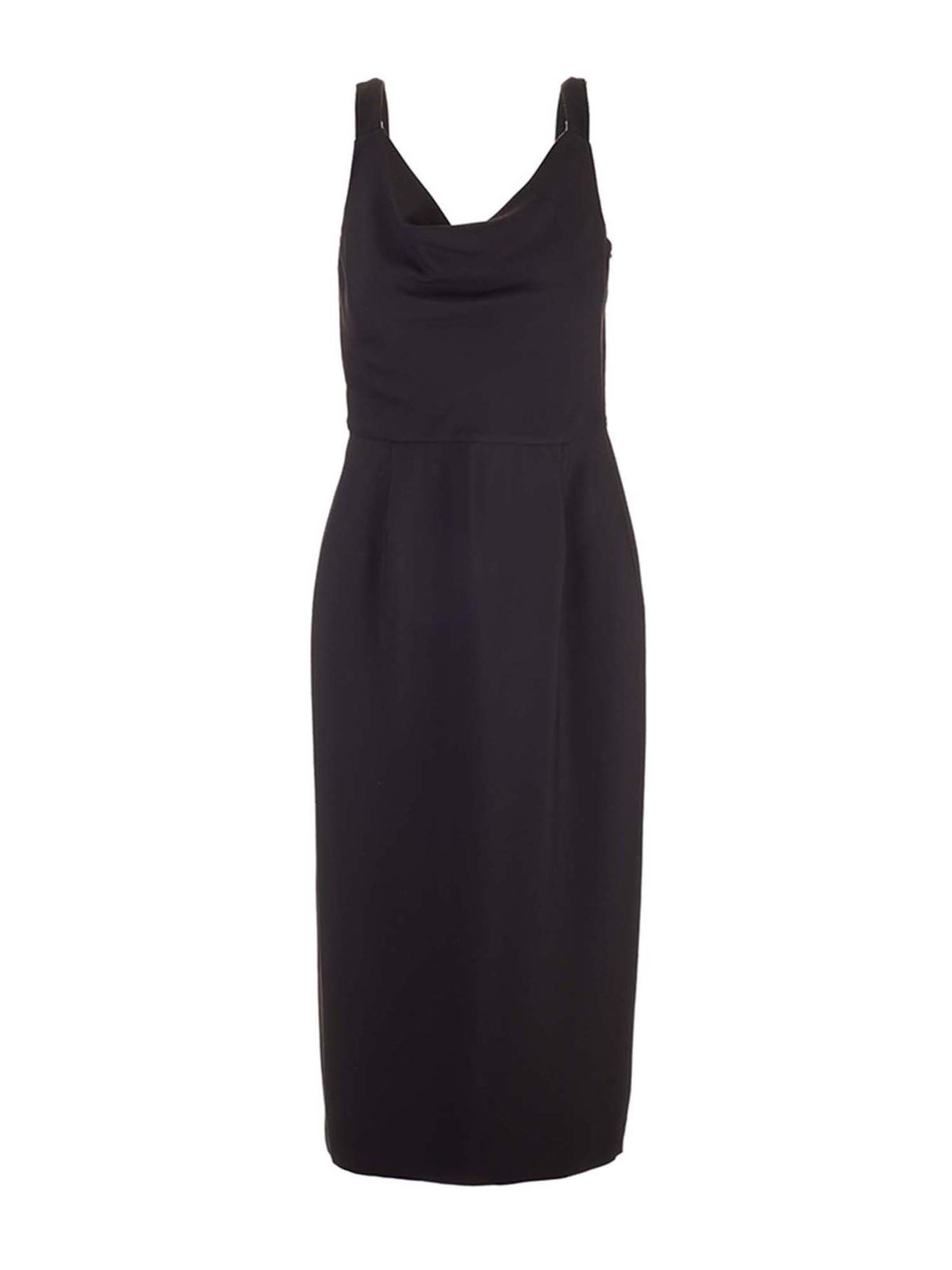 Valentino Dresses SHIFT DRESS IN BLACK