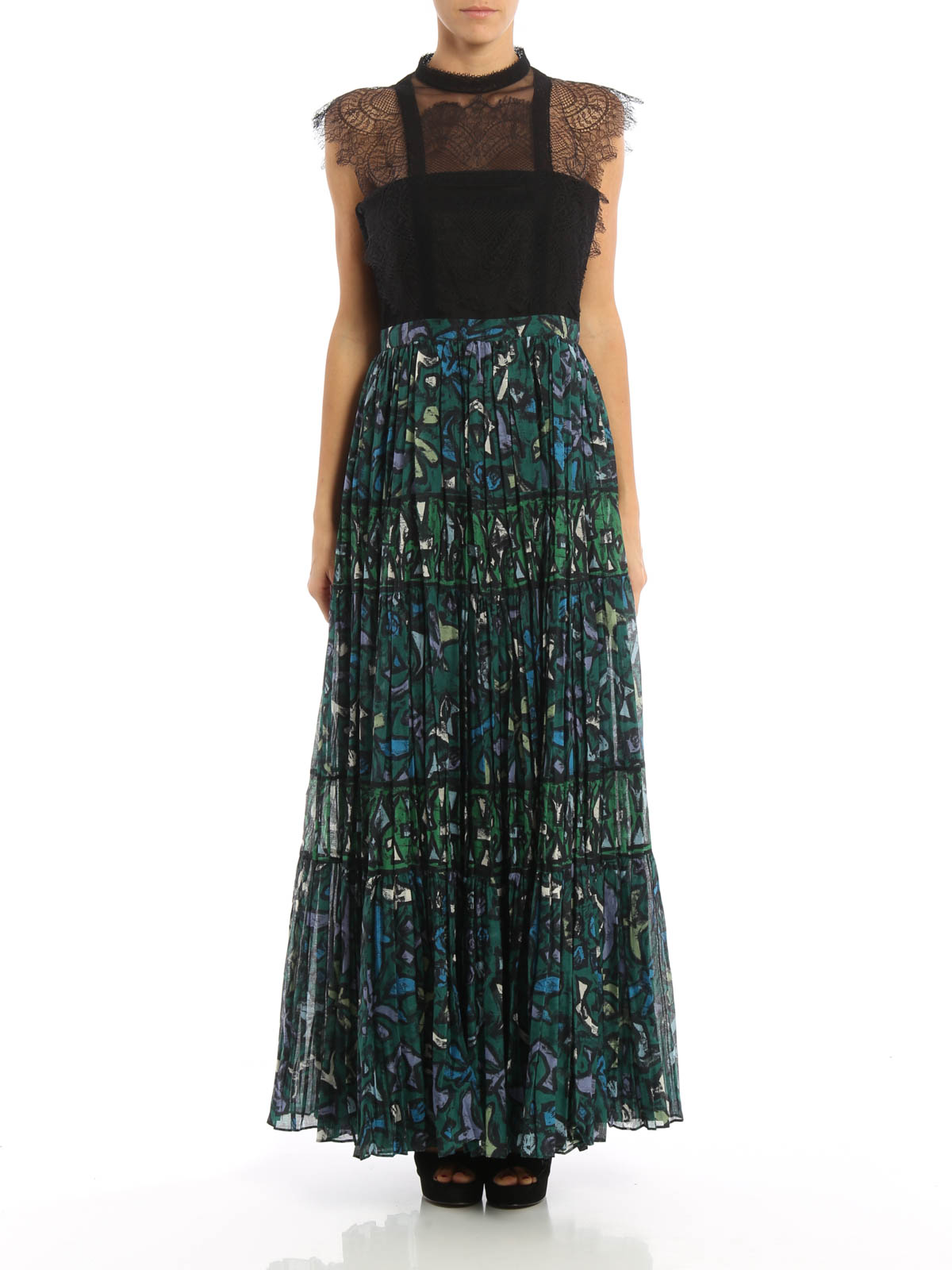Valentino - Abendkleid - Grün - Abendkleider - MB10VABQ6101DM10