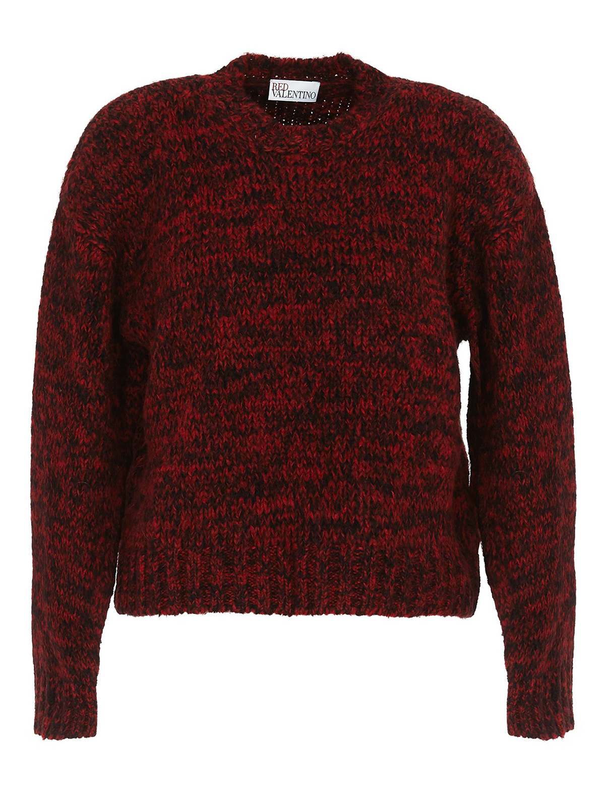 Red Valentino RED GIRL EMBROIDERY ALPACA BLEND SWEATER