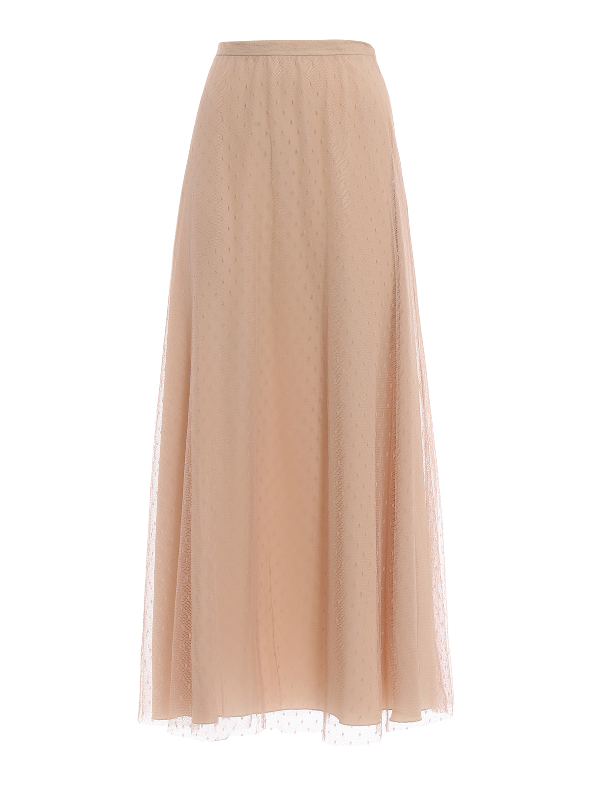 9179bb5b30 Valentino Red - Point d'esprit tulle long skirt - Long skirts ...