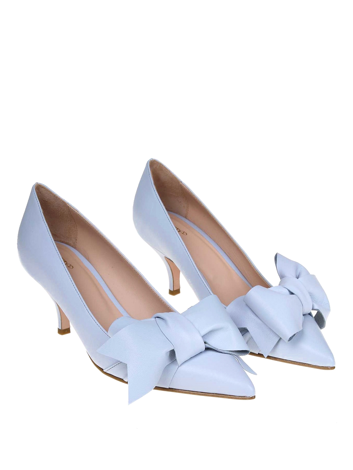 Valentino Talon Bleu Escarpins Red Clair Chaussures À kXZTiOuwP