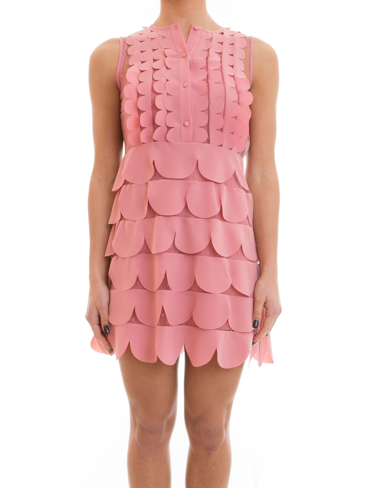 Kurzes kleid pink