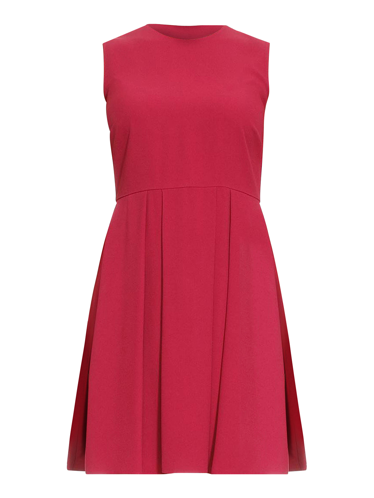pleated skirt sleeveless mini dress by valentino