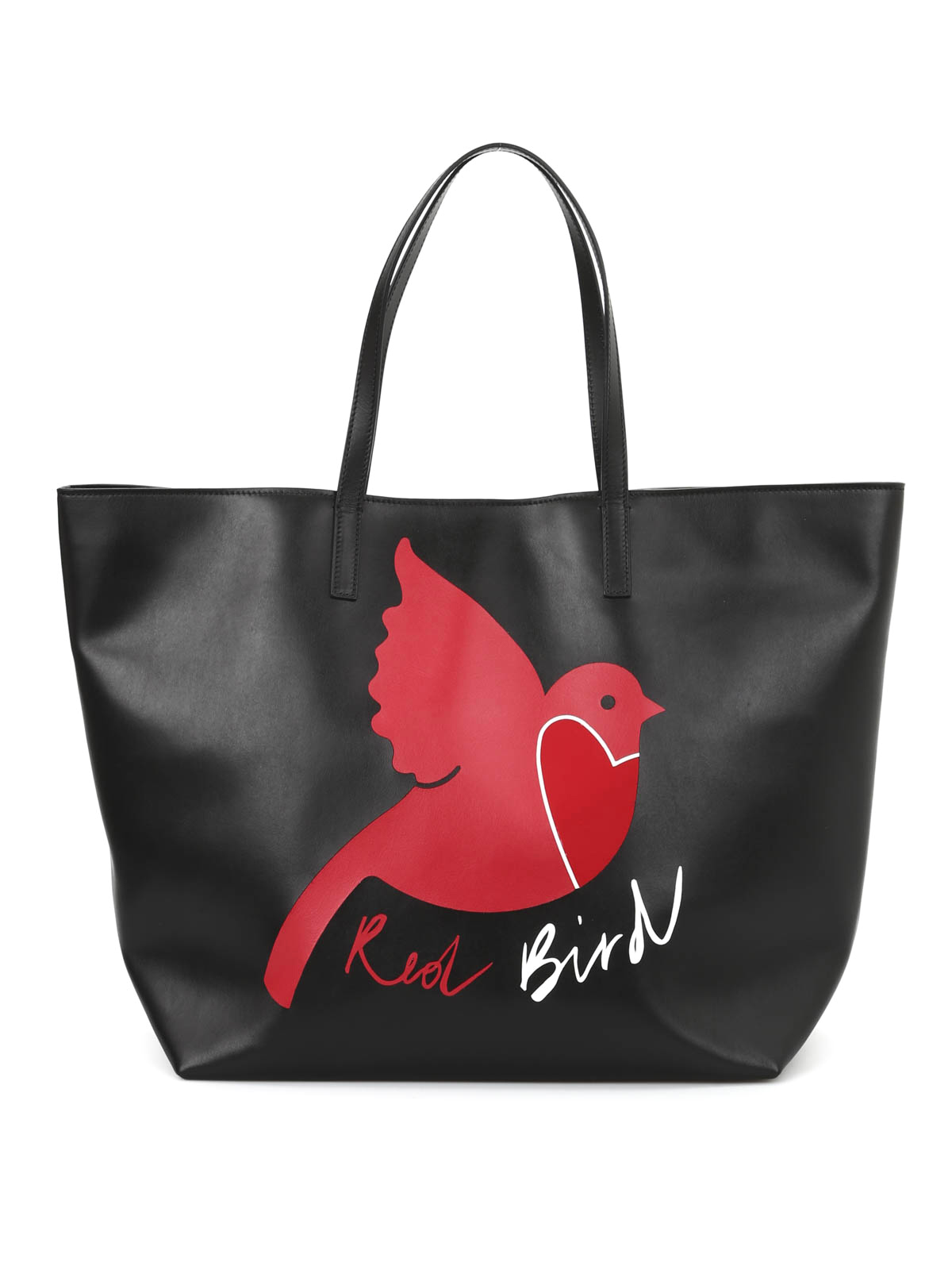 Valentino Red - Red Bird shopping bag - totes bags - KQ0B0631 VUC 0NO b29237bdb8a