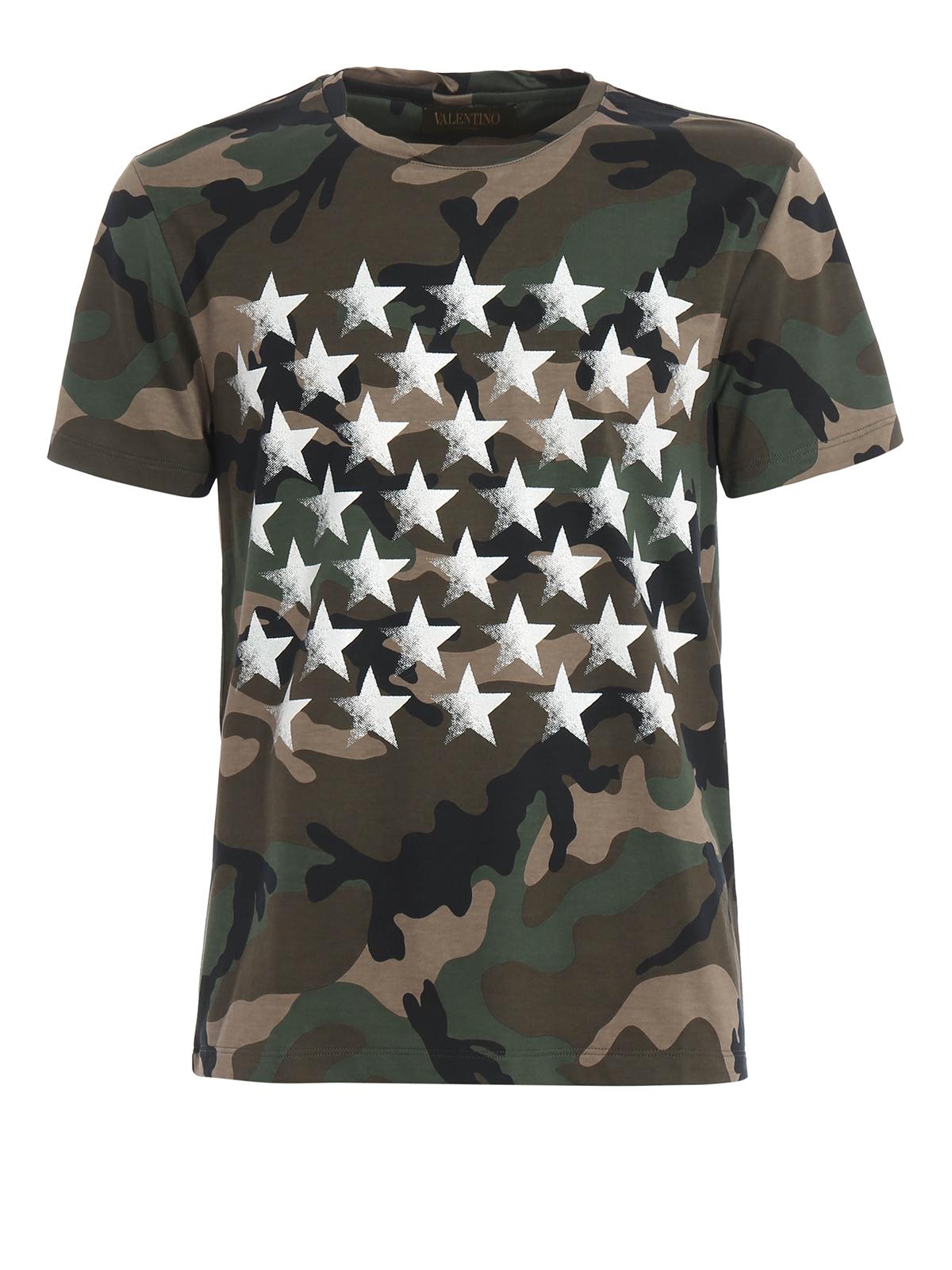 camustars print t shirt by valentino t shirts ikrix