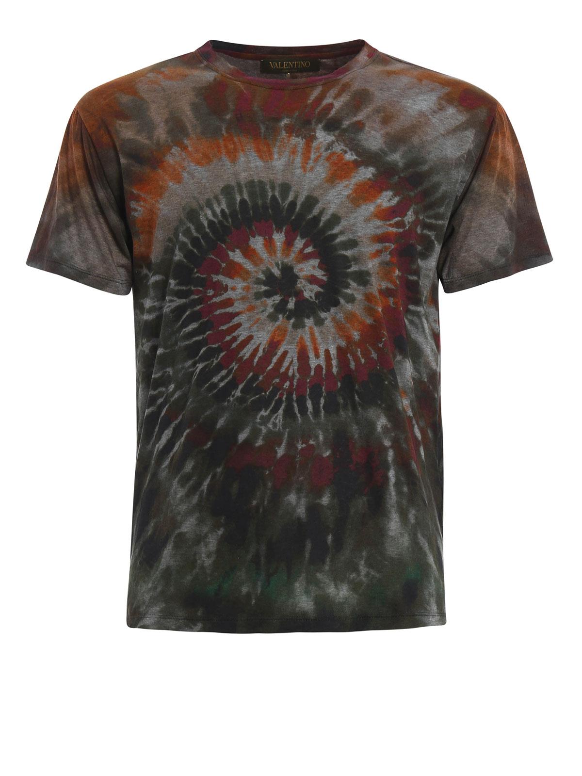 tie dye print t shirt by valentino t shirts ikrix