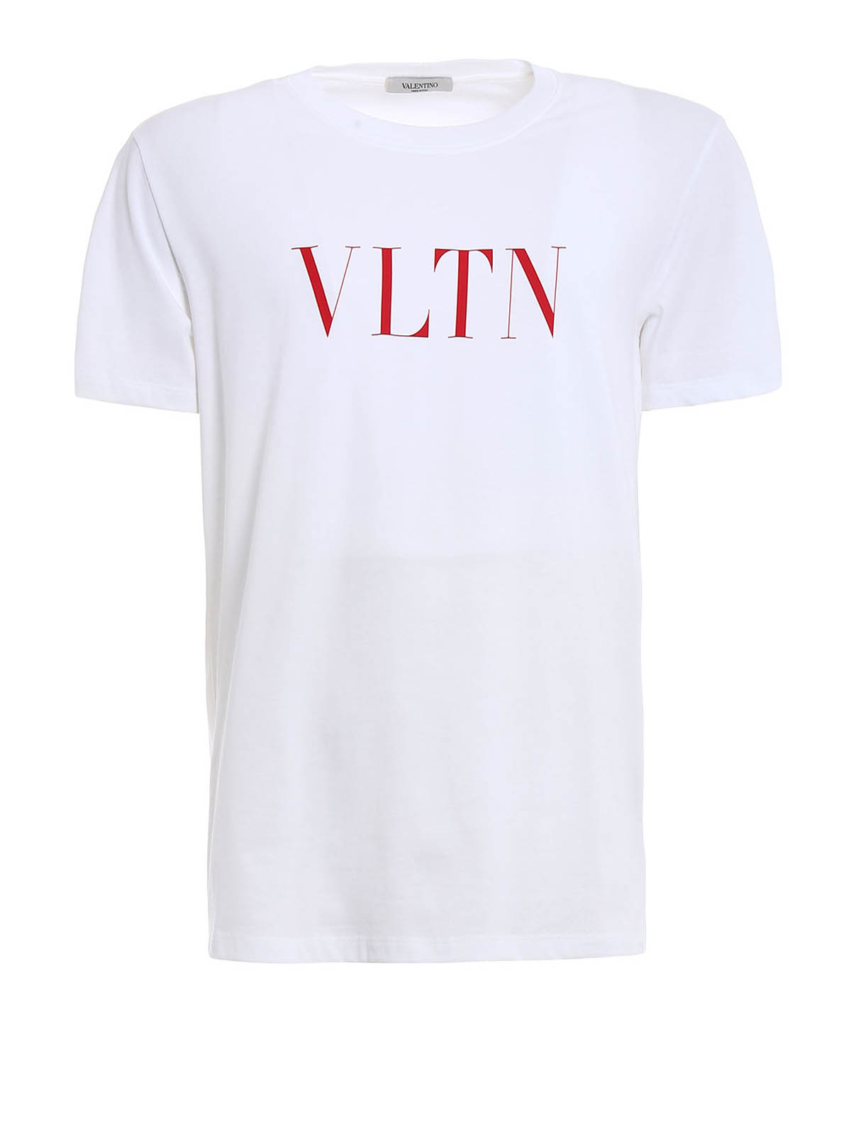 Vltn print white t shirt by valentino t shirts ikrix for White t shirt printing