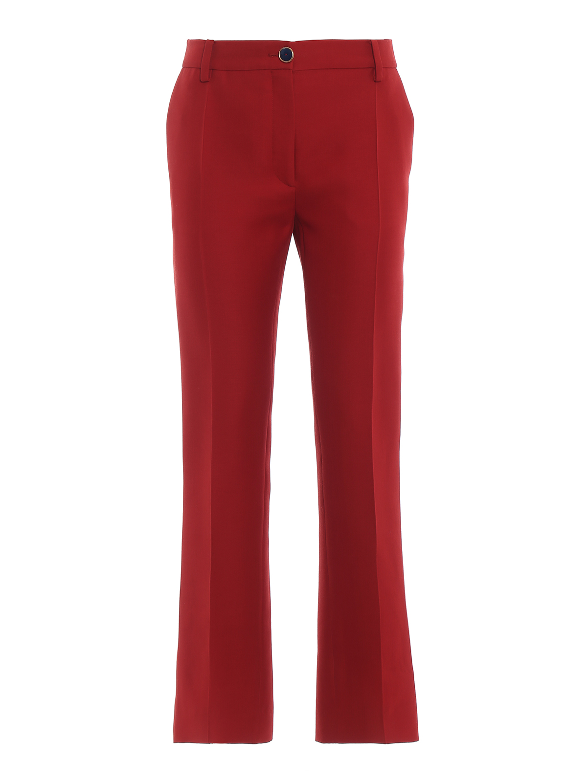92206145fbd7 VALENTINO  Tailored   Formal trousers - Wool and silk high rise trousers