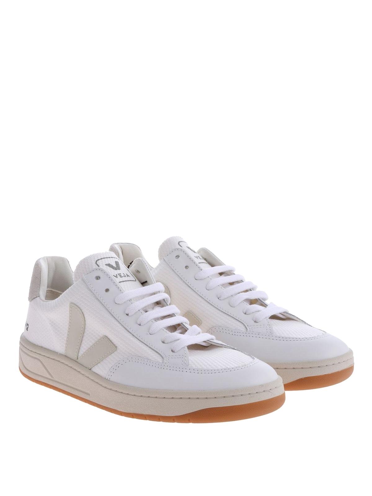 respirar Ashley Furman Mercurio  Veja - V-12 sneakers - trainers - XDM011535 | Shop online at iKRIX