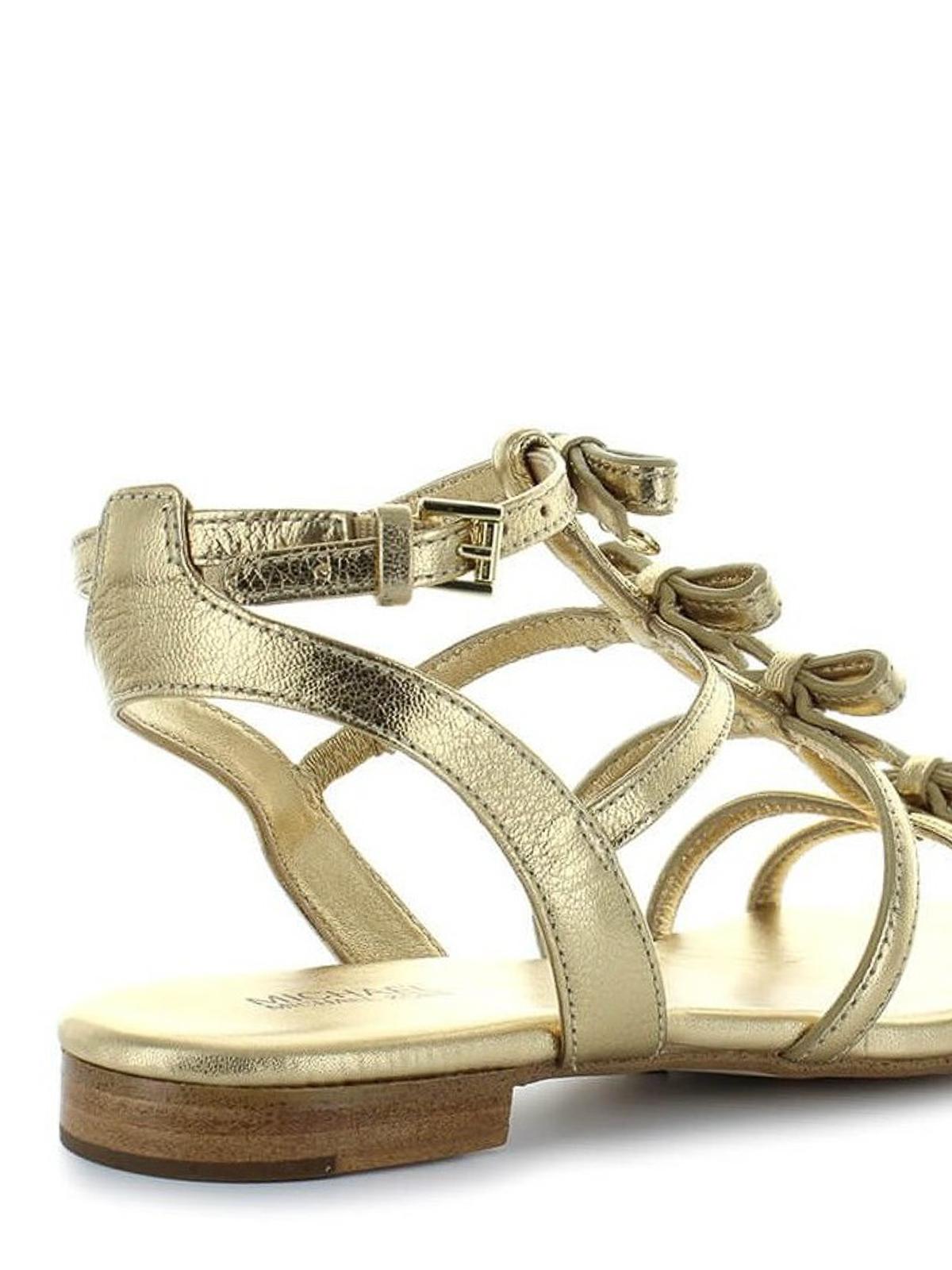 Michael Kors - Veronica golden flat