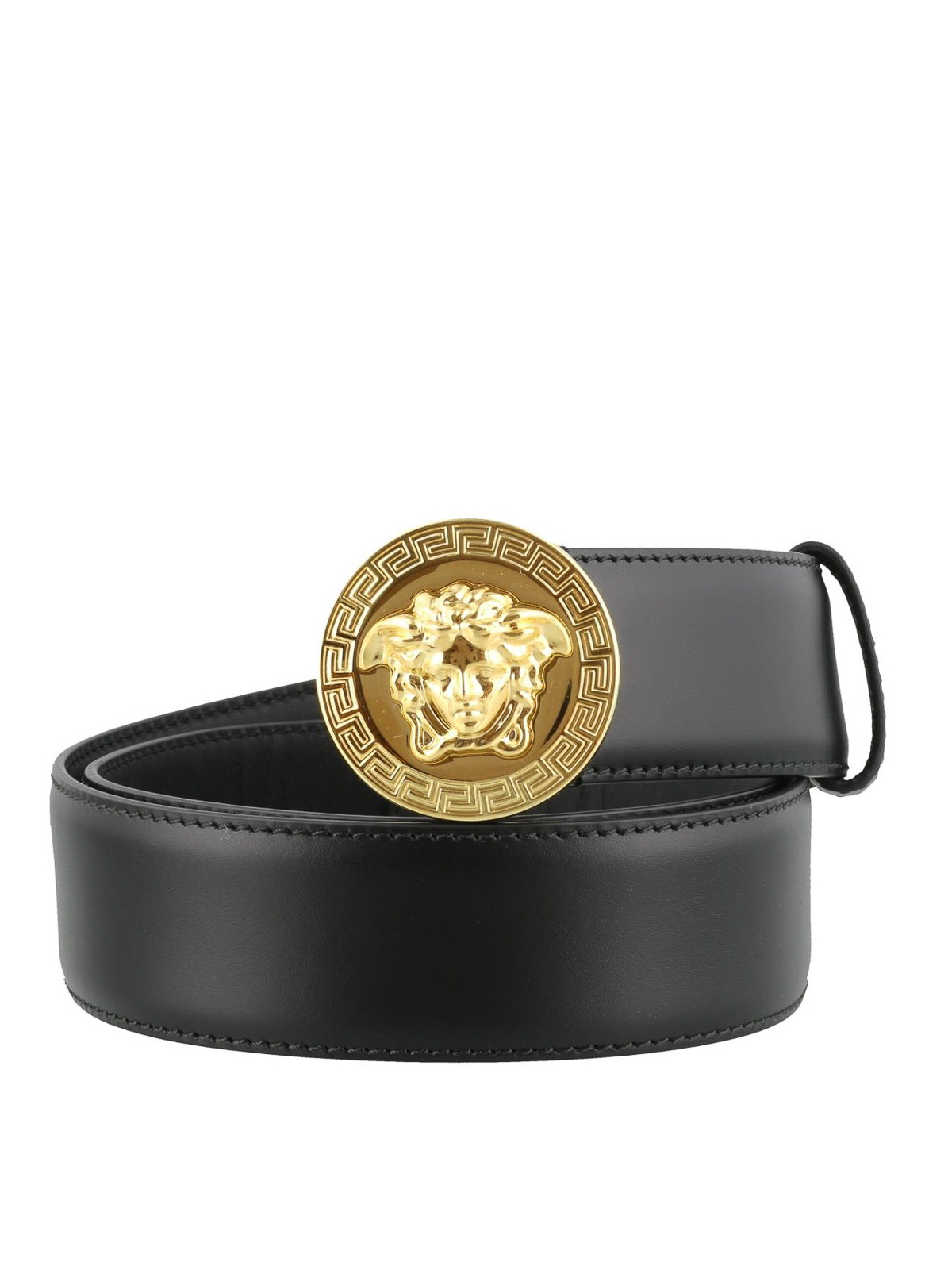 Versace Medusa Head Leather Belt Belts Dcu4806dvtp1d41oh