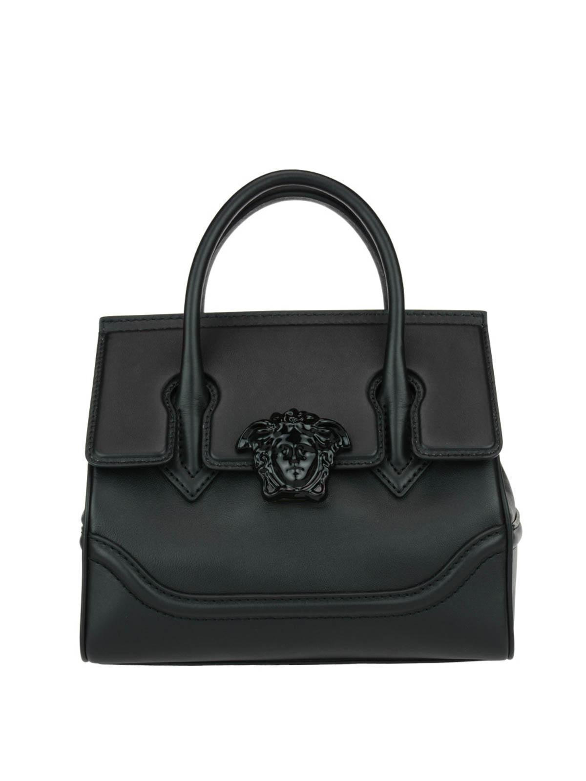 Versace Palazzo Empire Black Bag Bowling Bags