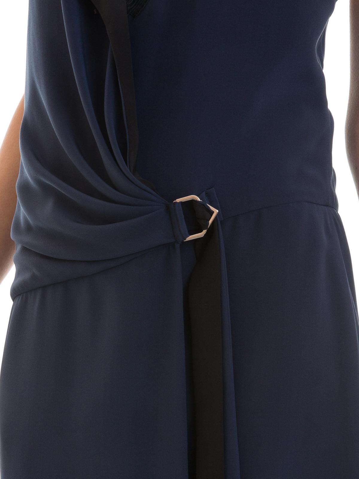 Cocktailkleid - Dunkelblau von Versace - Cocktailkleider | iKRIX