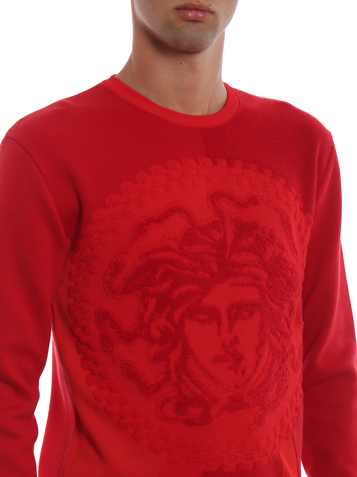 Versace - Pull Col Rond - Medusa - Pull col rond - A79786A225888A041 02f5cbe9ab9