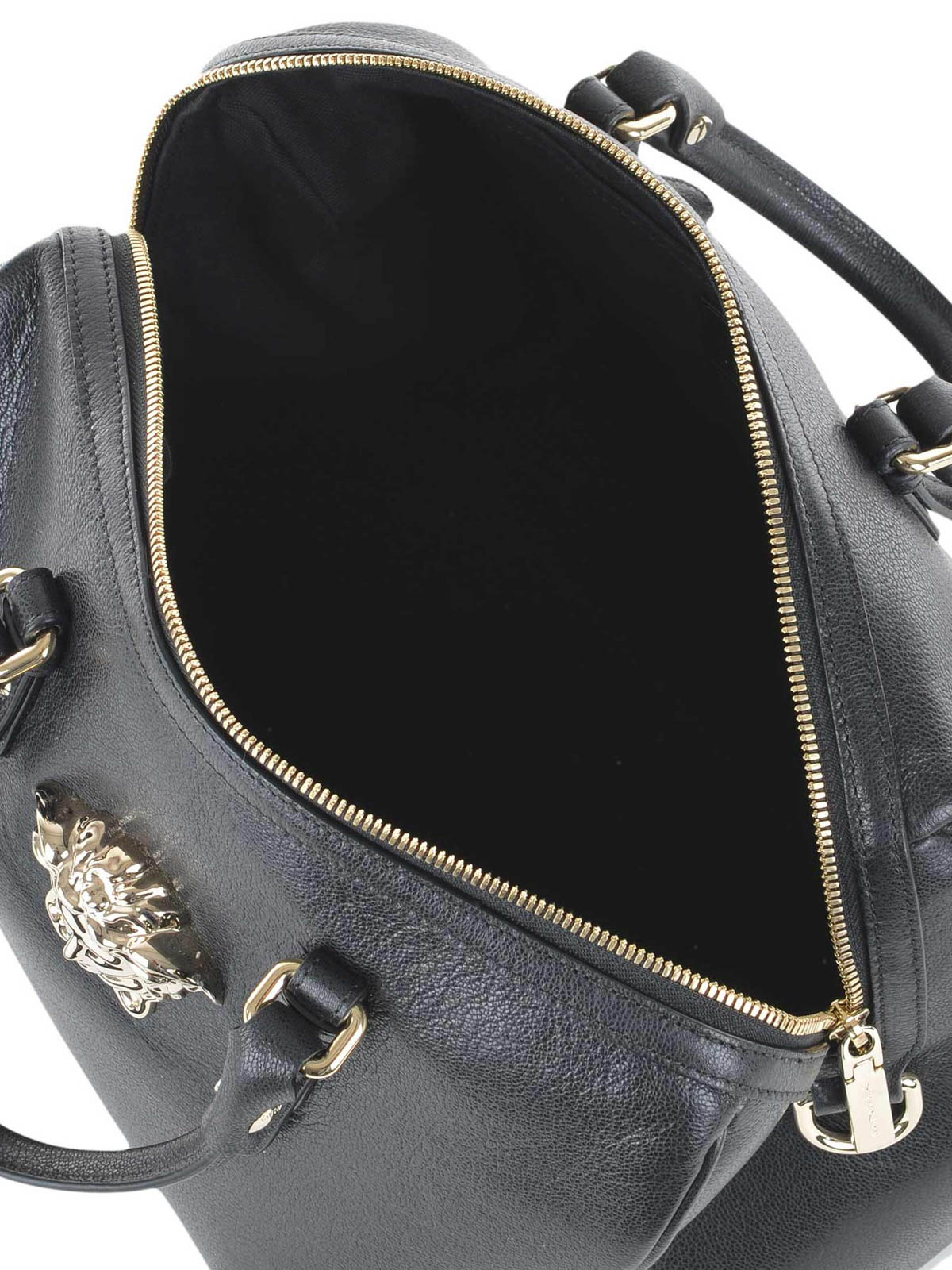 df0fa2a0402d Versace - Palazzo Medusa leather bowling bag - bowling bags ...