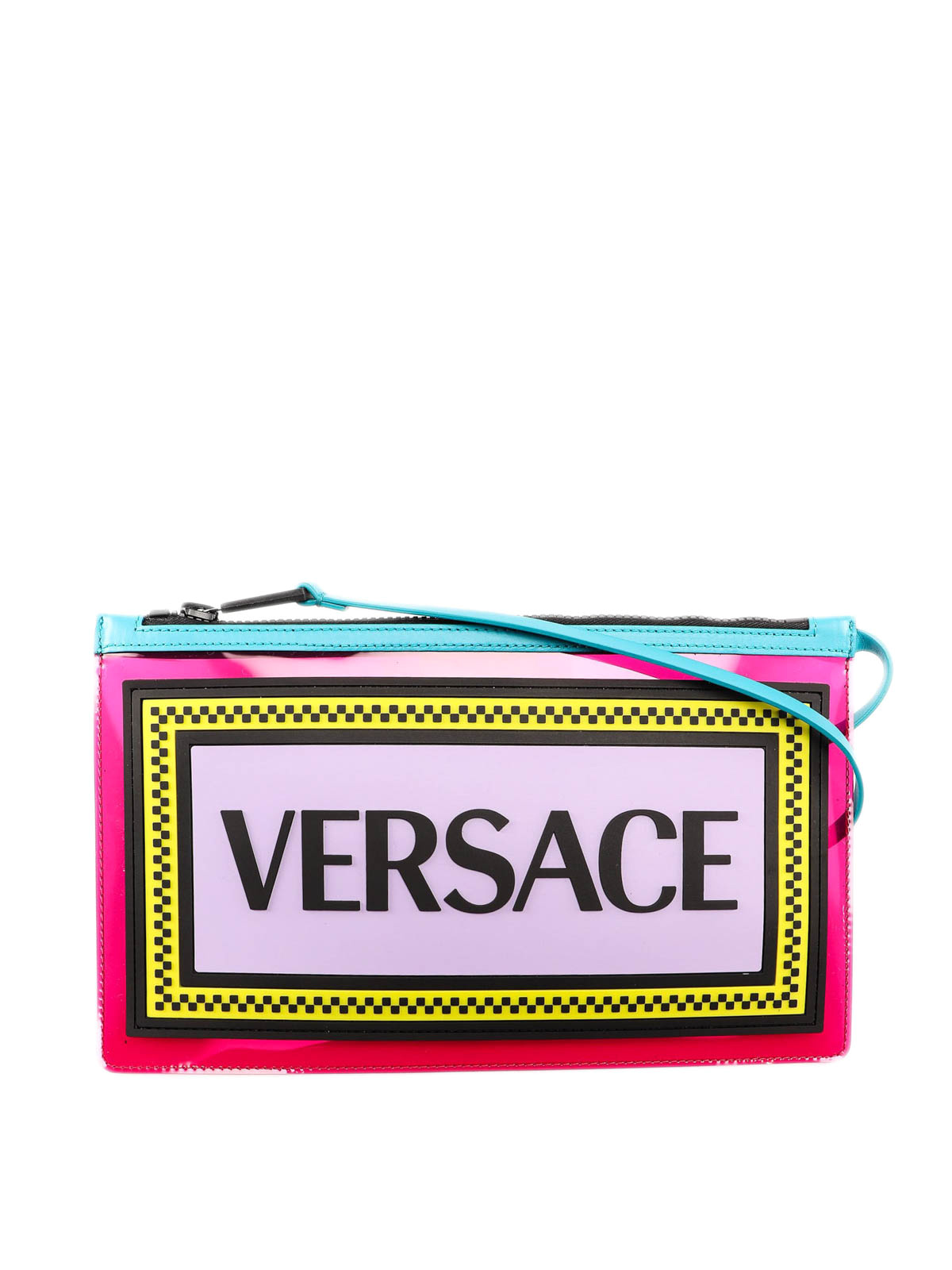9ada8cd231 Versace - 90s Vintage logo clutch - clutches - DP8G957D3PVC DF5MT