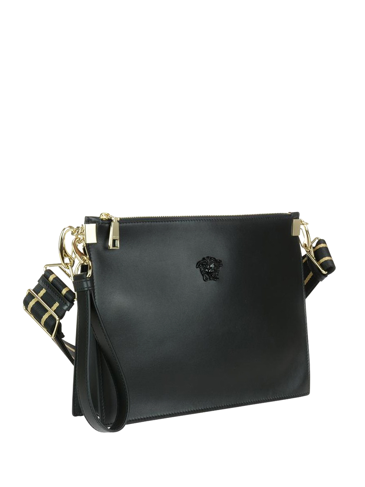 Versace Leather clutch with small Medusa LLBCI