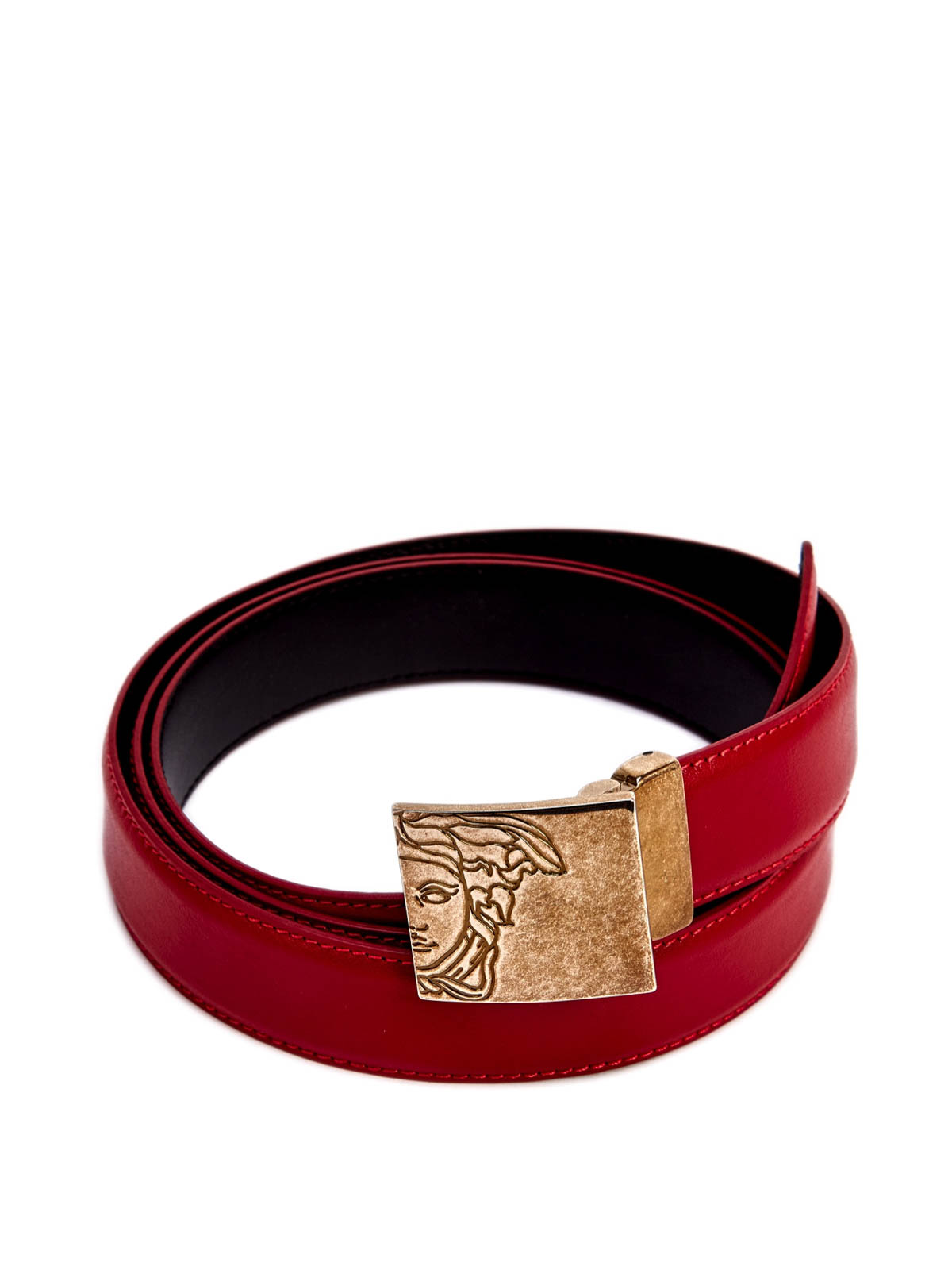 Versace Collection - Medusa Buckle Belt - Belts