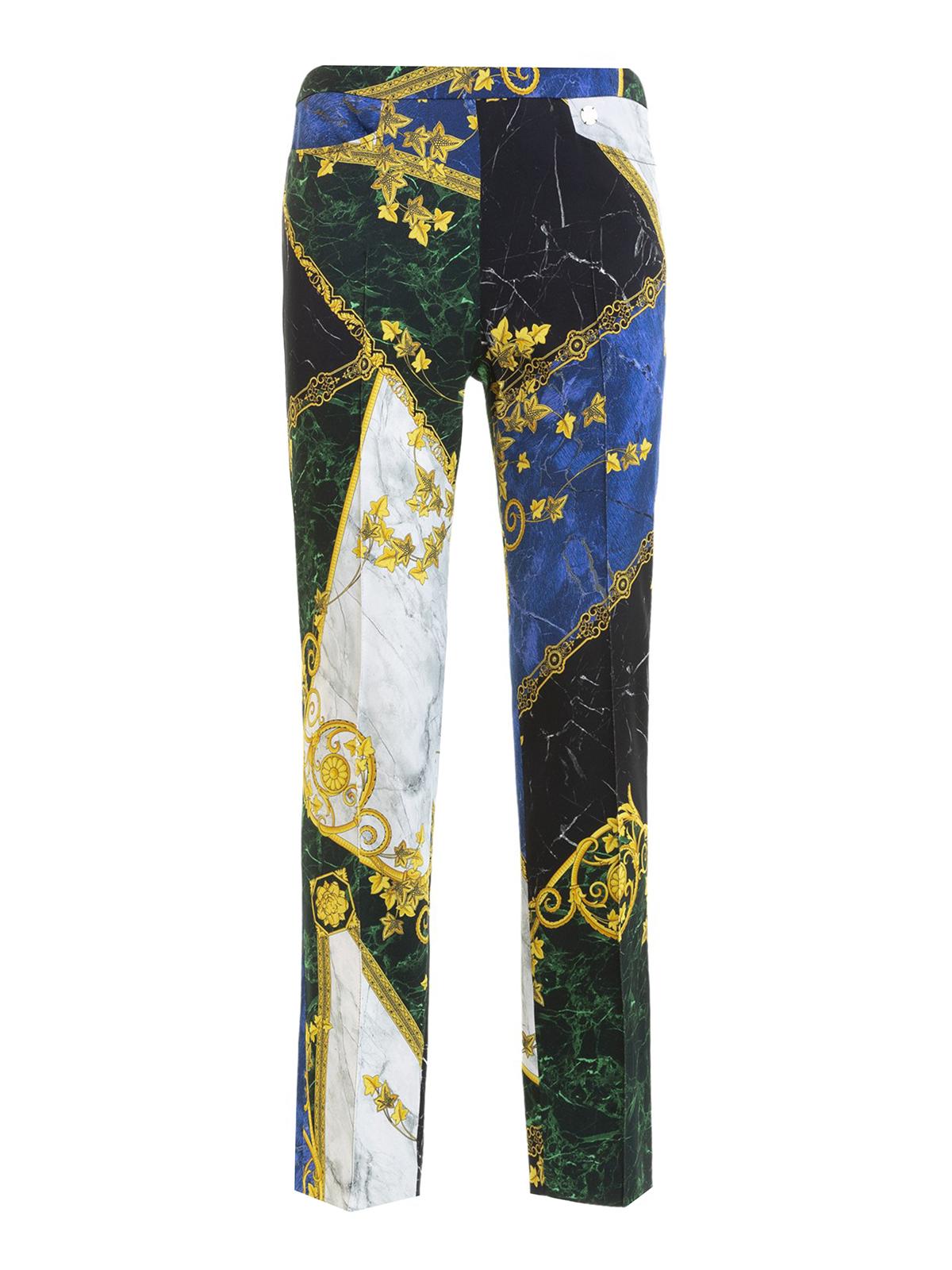 aspetto dettagliato 01180 adb84 Versace Collection - Pantaloni con stampa barocca ...