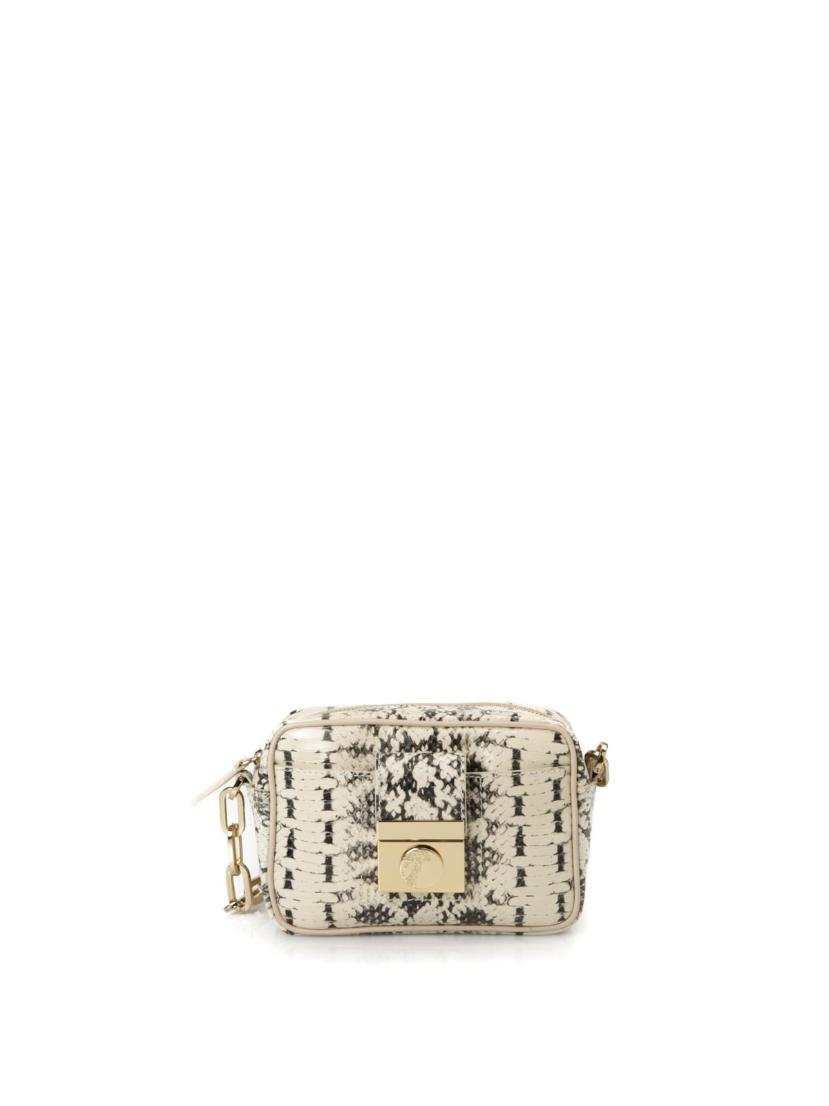 Versace Collection - Python leather crossbody - cross body bags ... 63479d9a4d29f