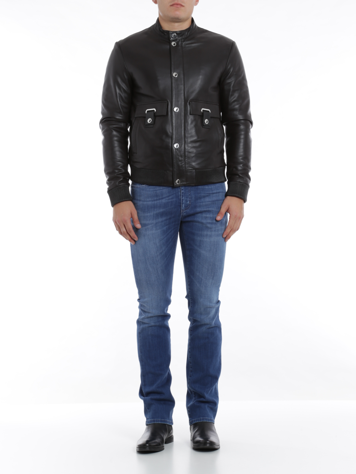 Leather jacket collection
