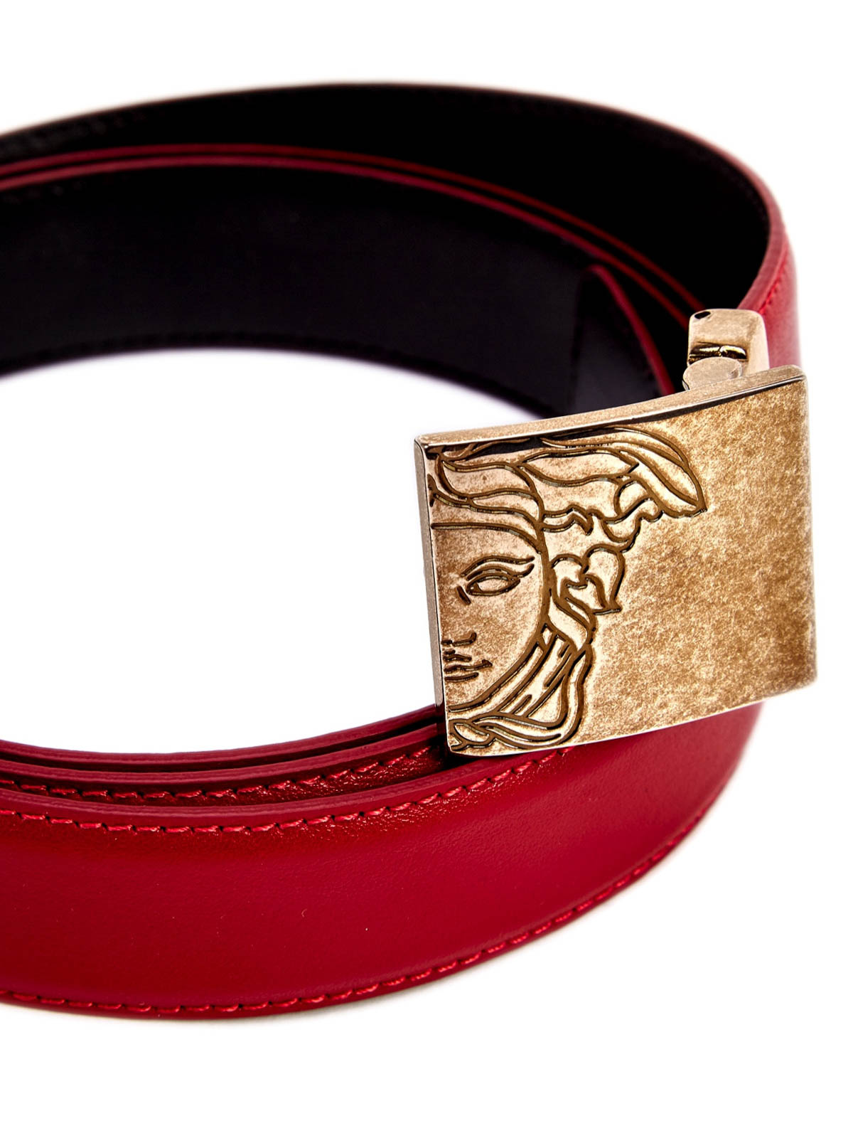 Versace Collection Medusa Buckle Belt Belts V910226
