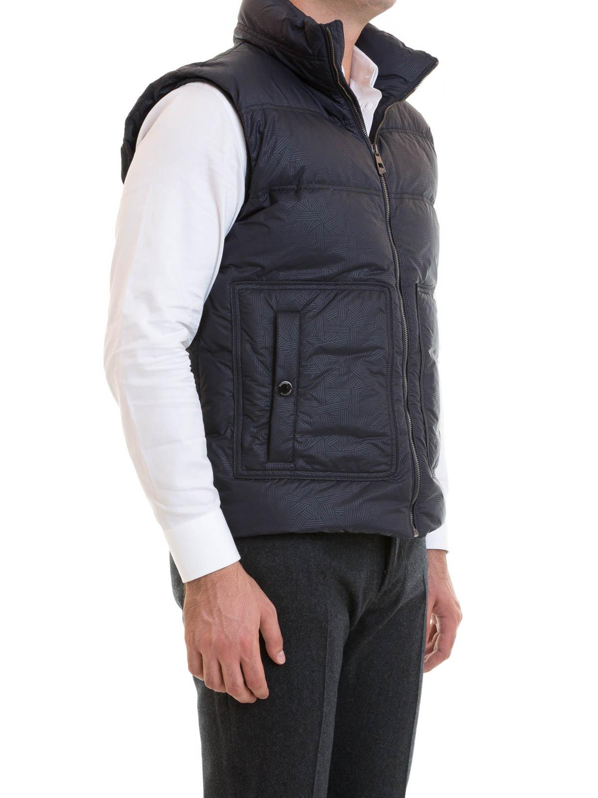 VERSACE COLLECTION  Vestes-rembourrees online - Manteau Rembourré Bleu Pour  Homme 925fe3175a9