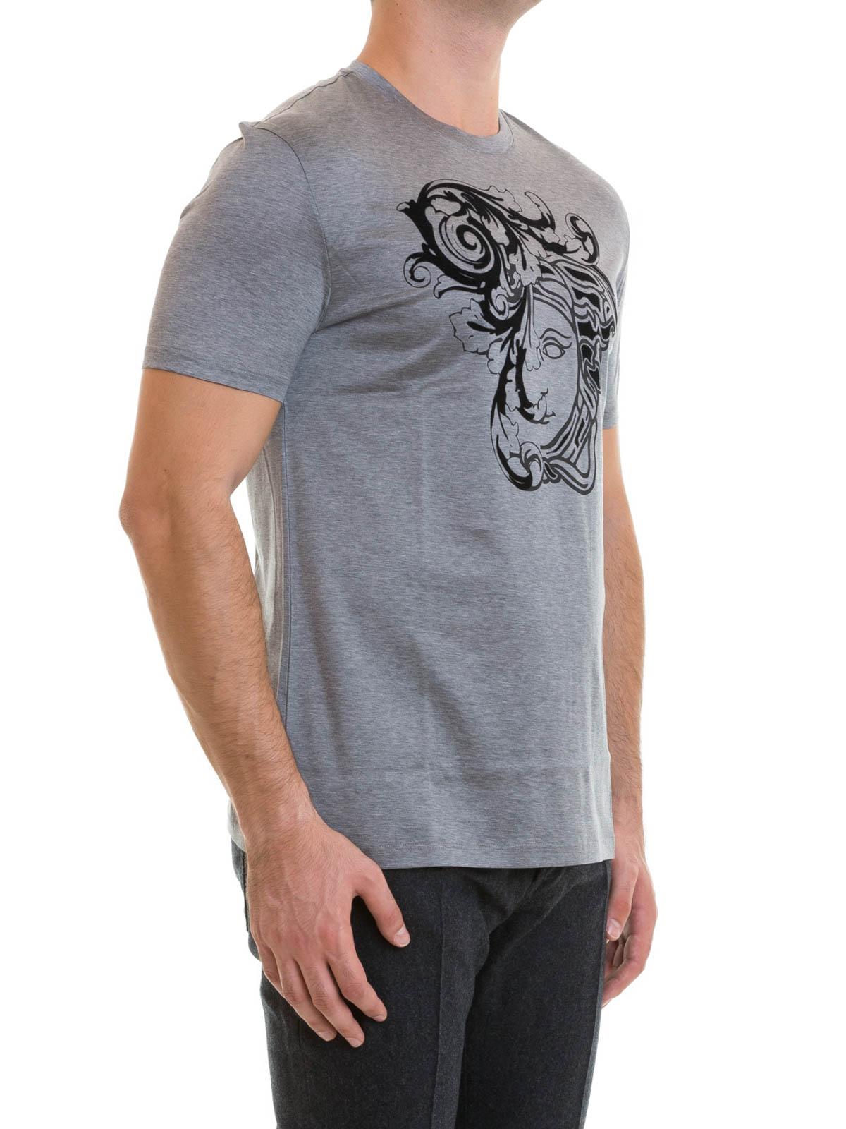 VERSACE COLLECTION  T-shirts online - T-Shirt Fur Herren - Grau 5e7833afde